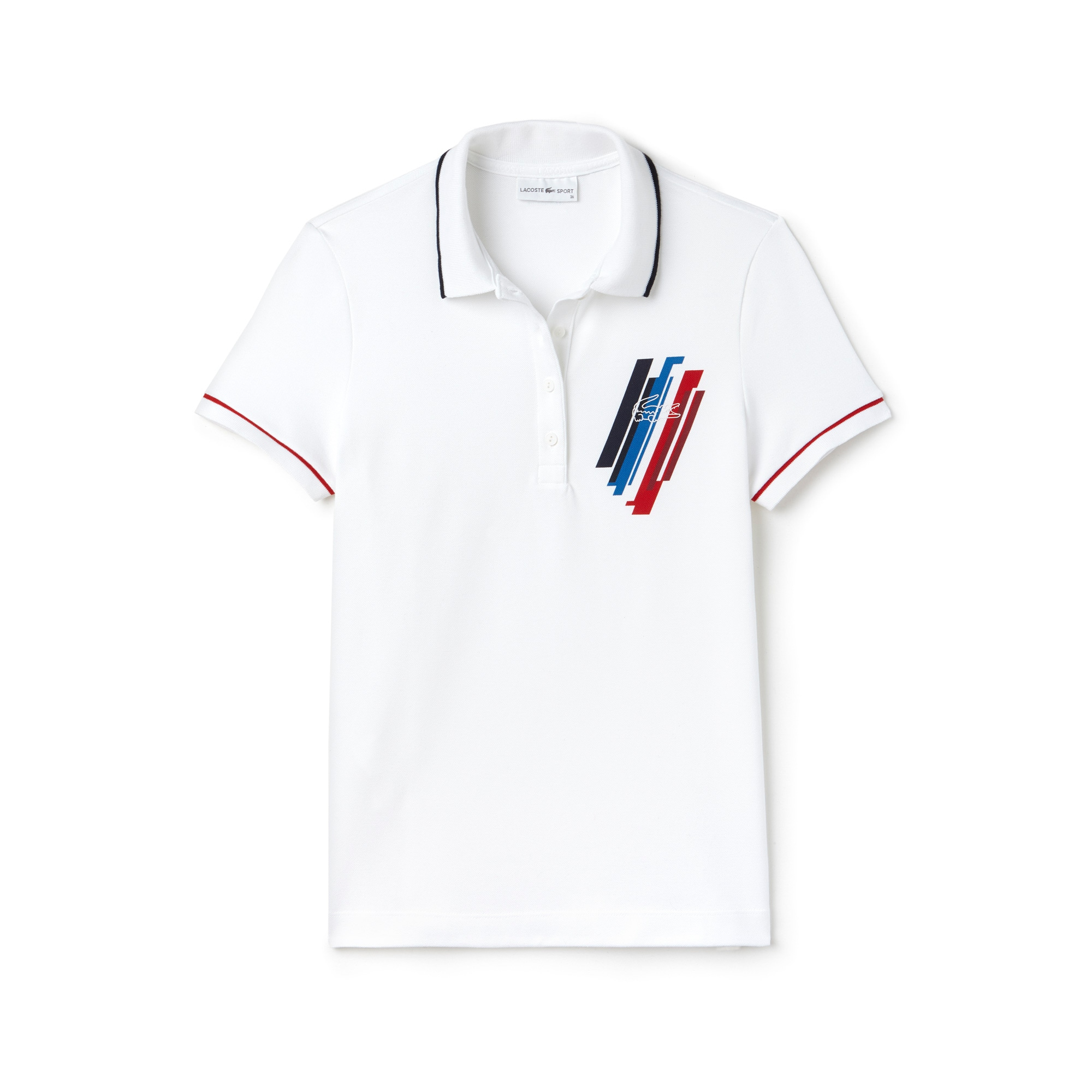 Women's Lacoste SPORT JO Edition Stretch Mini Piqué Polo