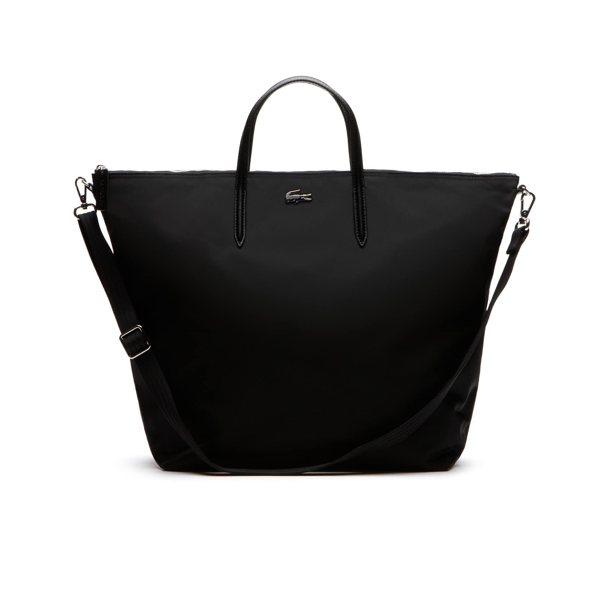 L.12.12 CONCEPT Nylon zippered travel tote bag