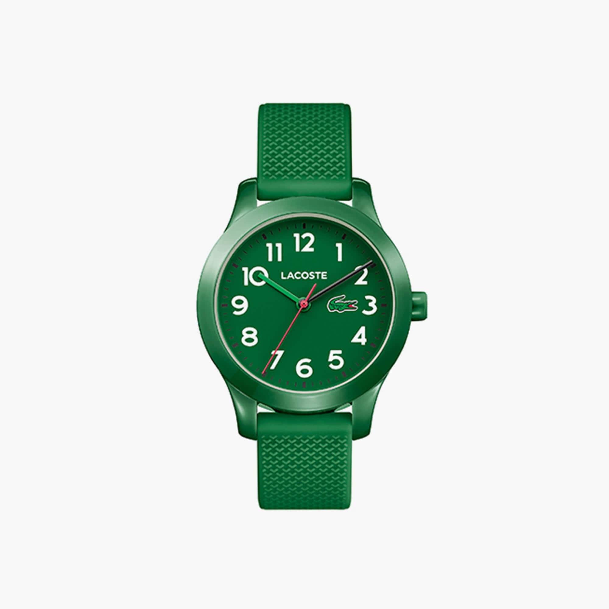 Montre Lacoste.12.12 Enfant avec Bracelet en Silicone Vert
