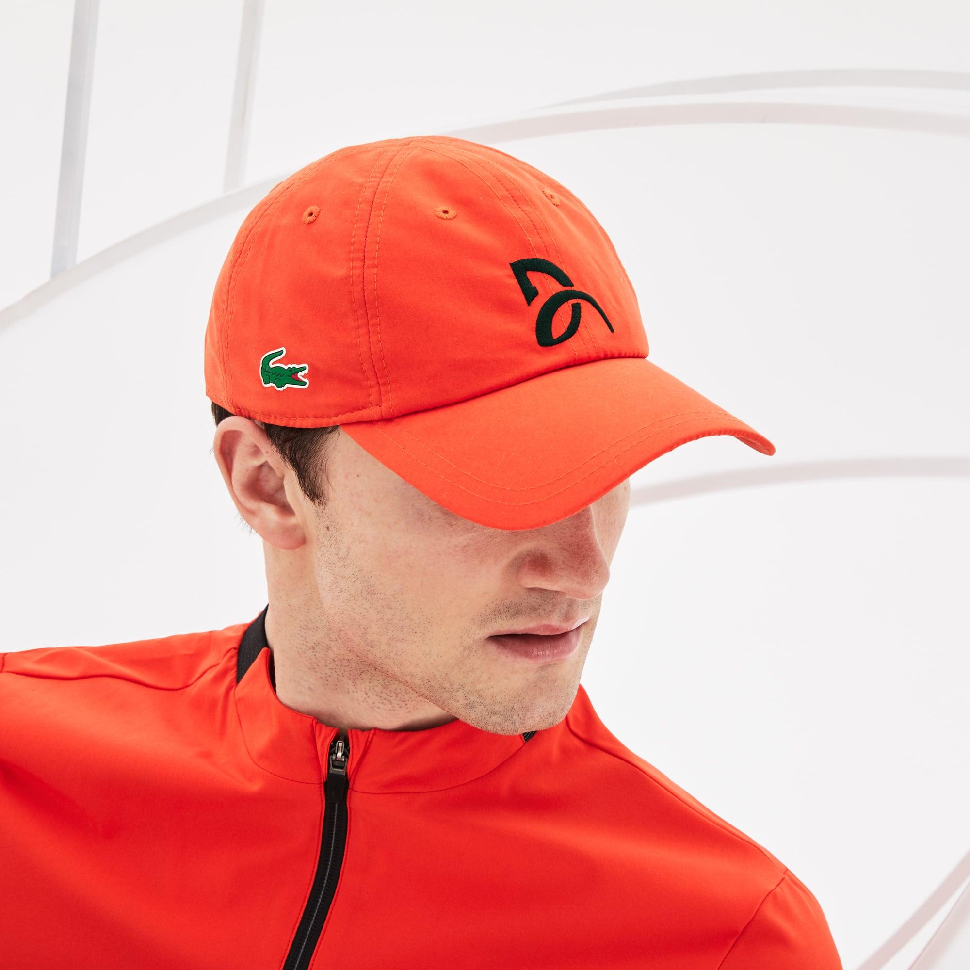 2f4708de28 Casquette Lacoste SPORT x Novak Djokovic – en microfibre | LACOSTE