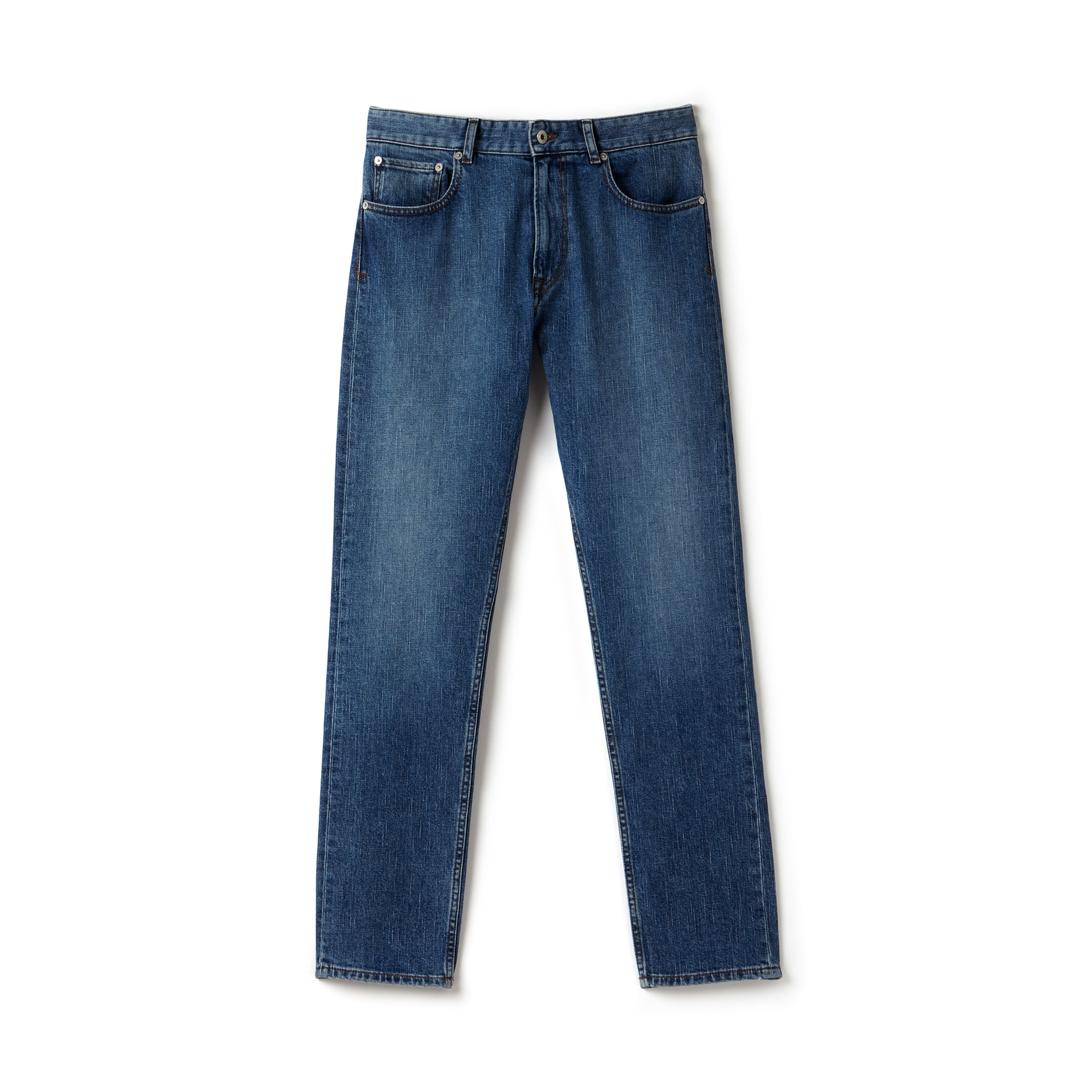 Jean 5 poches slim fit en denim de coton stretch