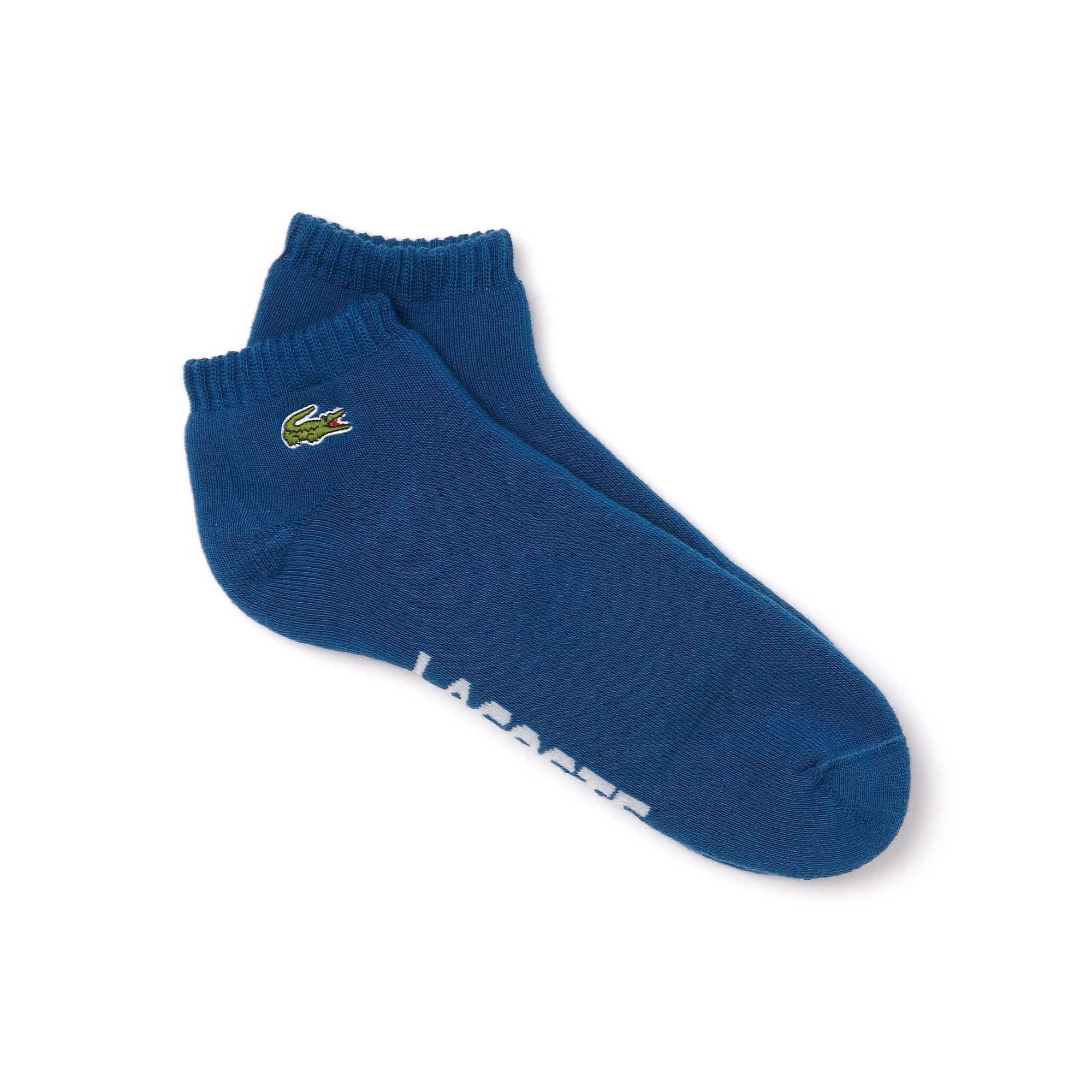 Socquettes Lacoste SPORT en jersey bouclette uni