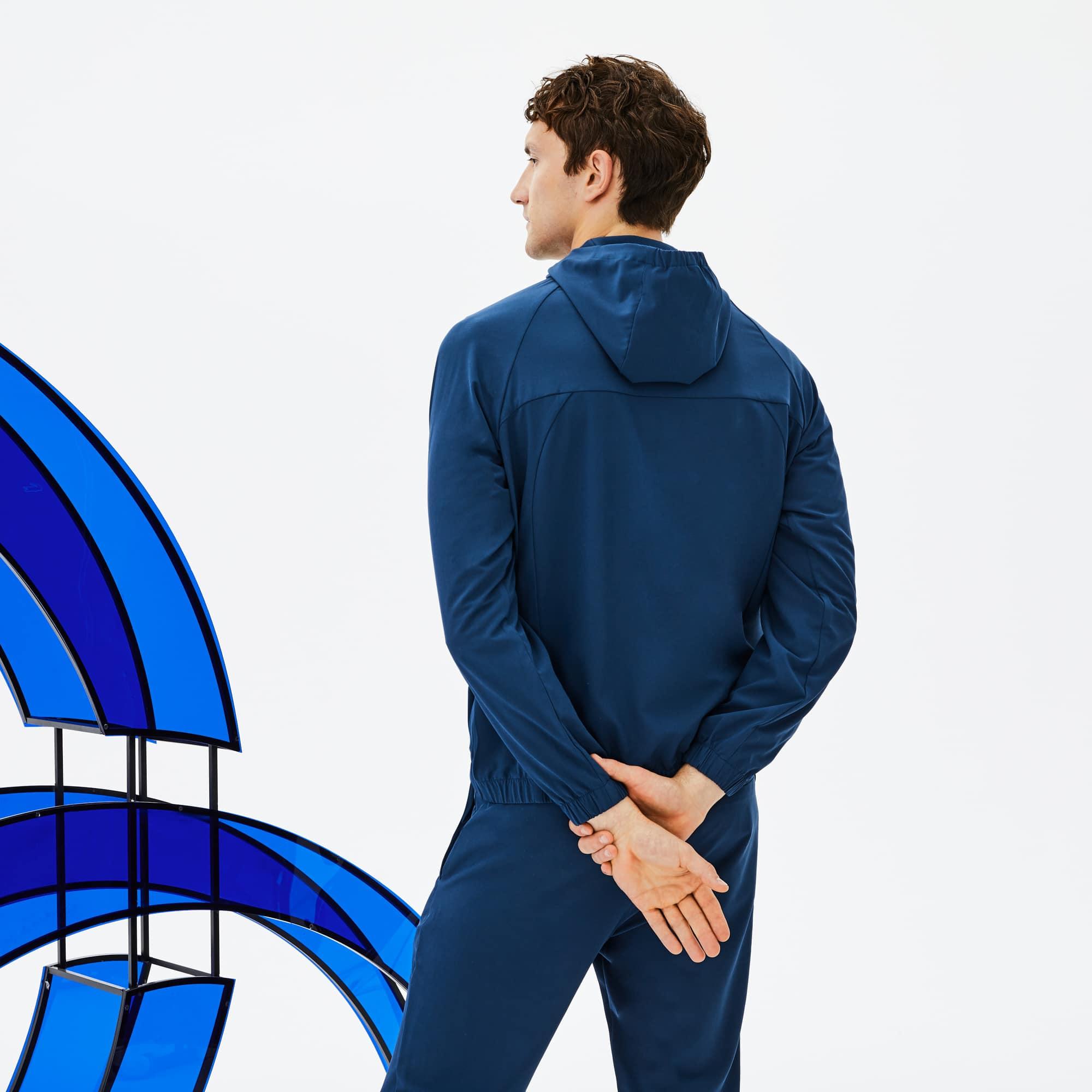 À Capuche X Midlayer Djokovic Novak En Sport Veste Lacoste CBxFdqq
