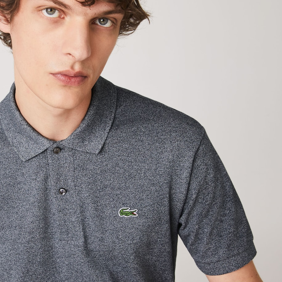 Polo Lacoste L.12.12 classic fit chiné