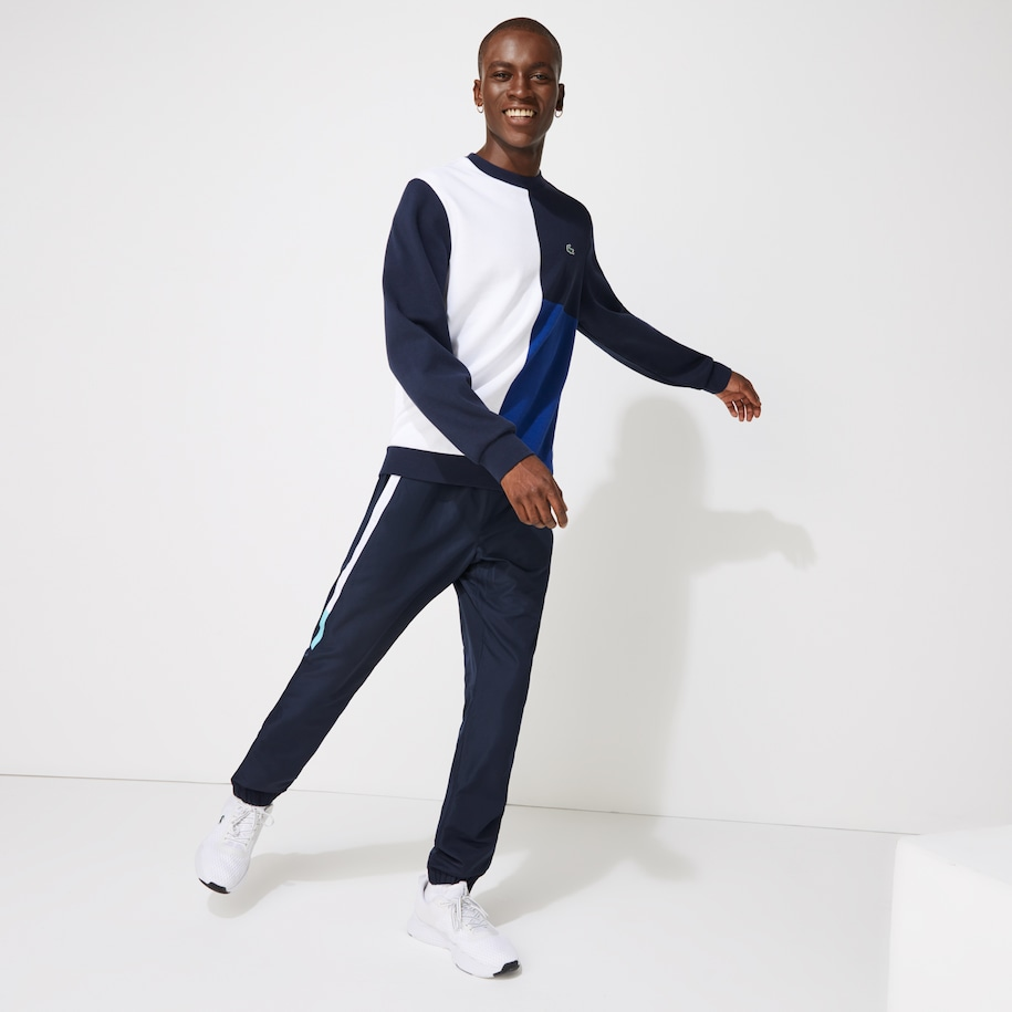 Pantalon de survêtement Lacoste SPORT léger color-block