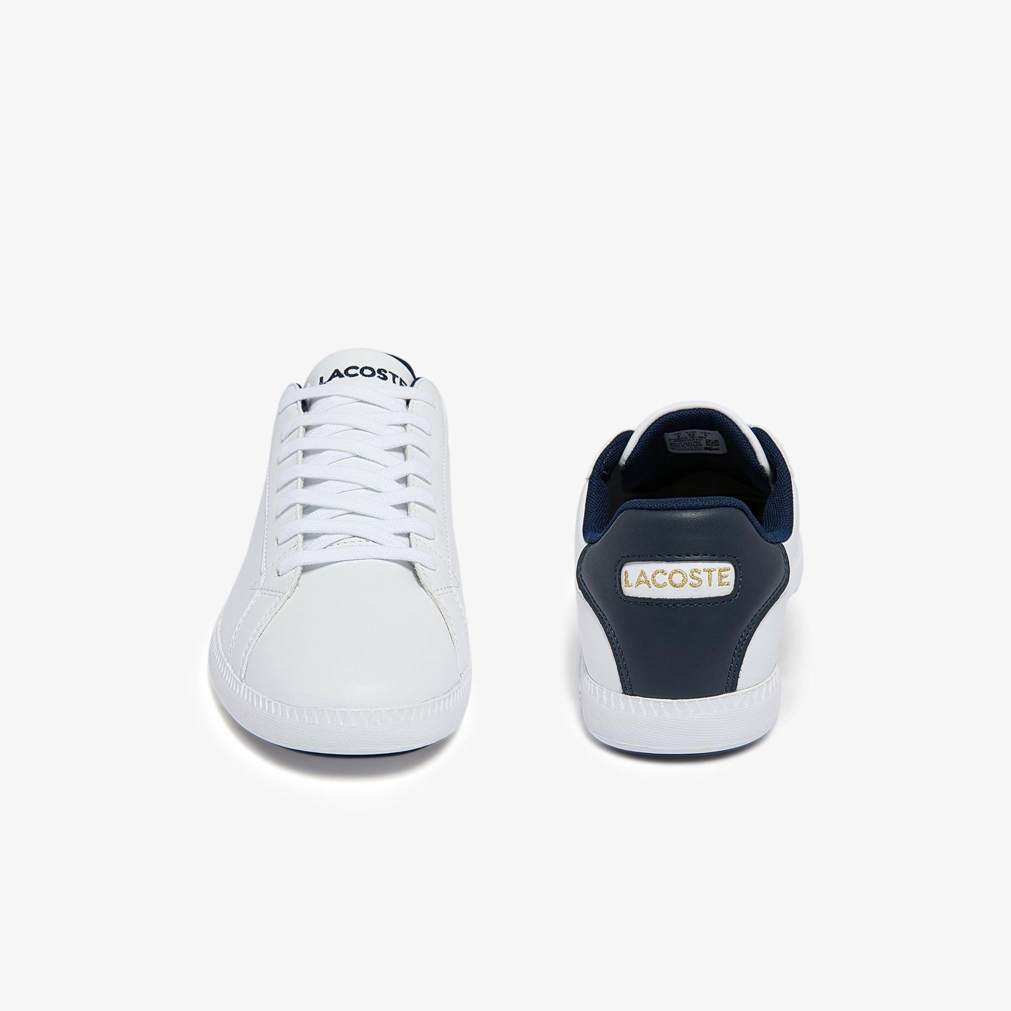 Lacoste Graduate tri1 Blanc 739sma0027407 Hommes Fashion Sneaker Chaussures De Loisirs