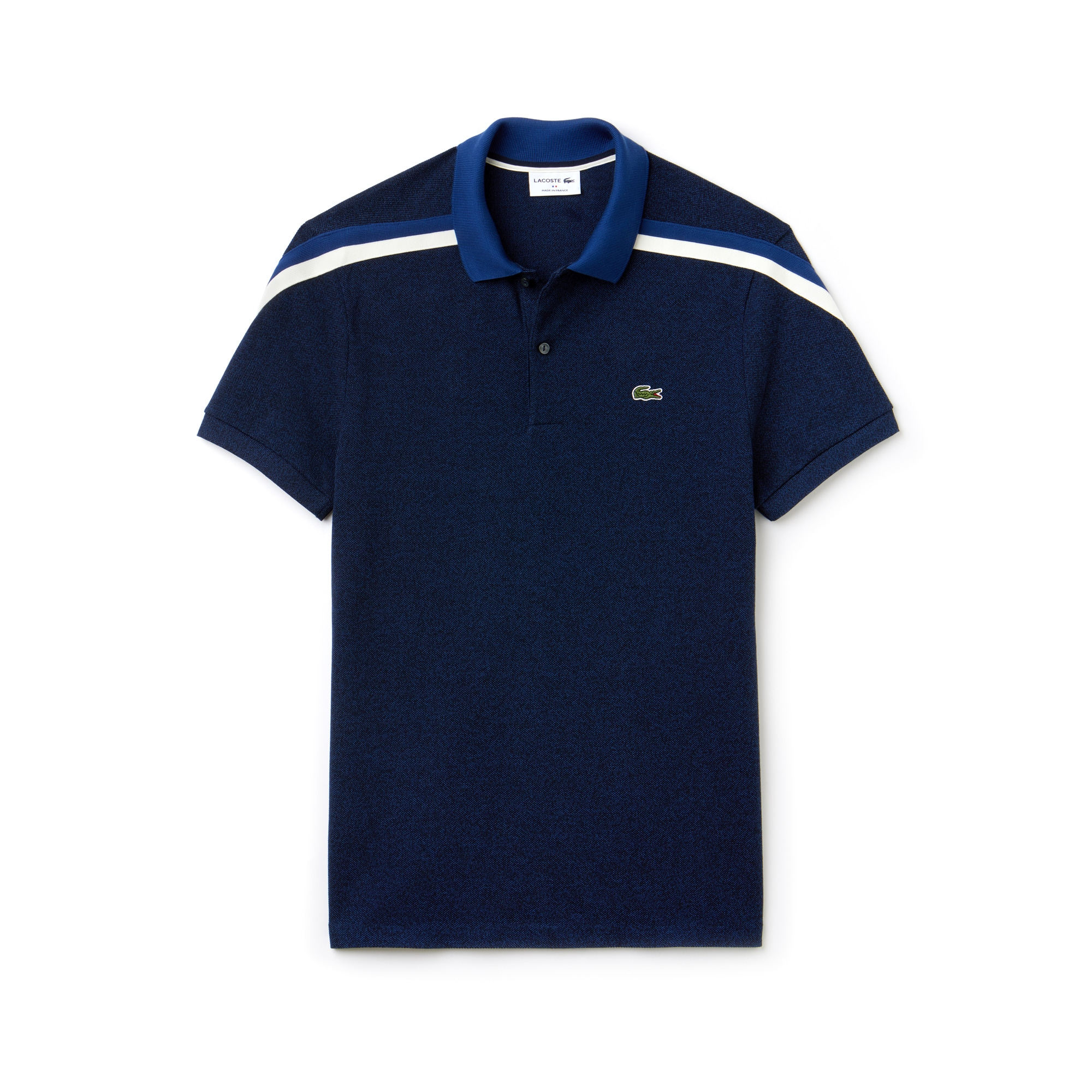 Polo regular fit Lacoste Made in France en piqué de coton