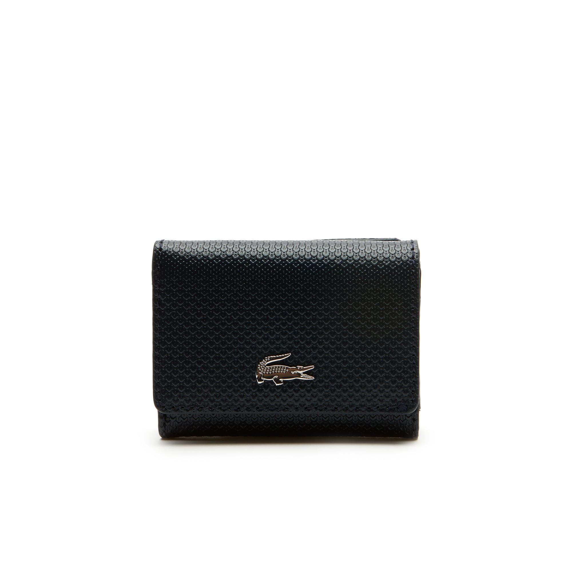 Coffret cadeau portefeuille et porte-clés Chantaco Christmas en cuir piqué
