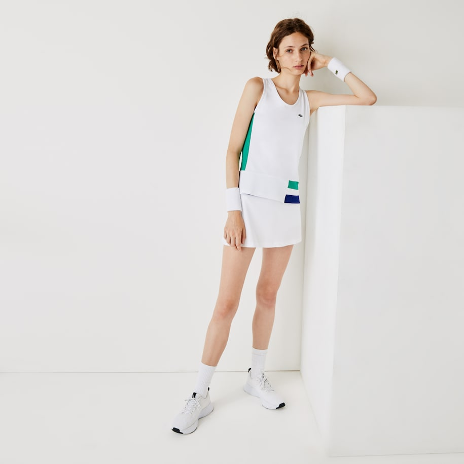 Débardeur Tennis Lacoste SPORT color-block stretch et respirant