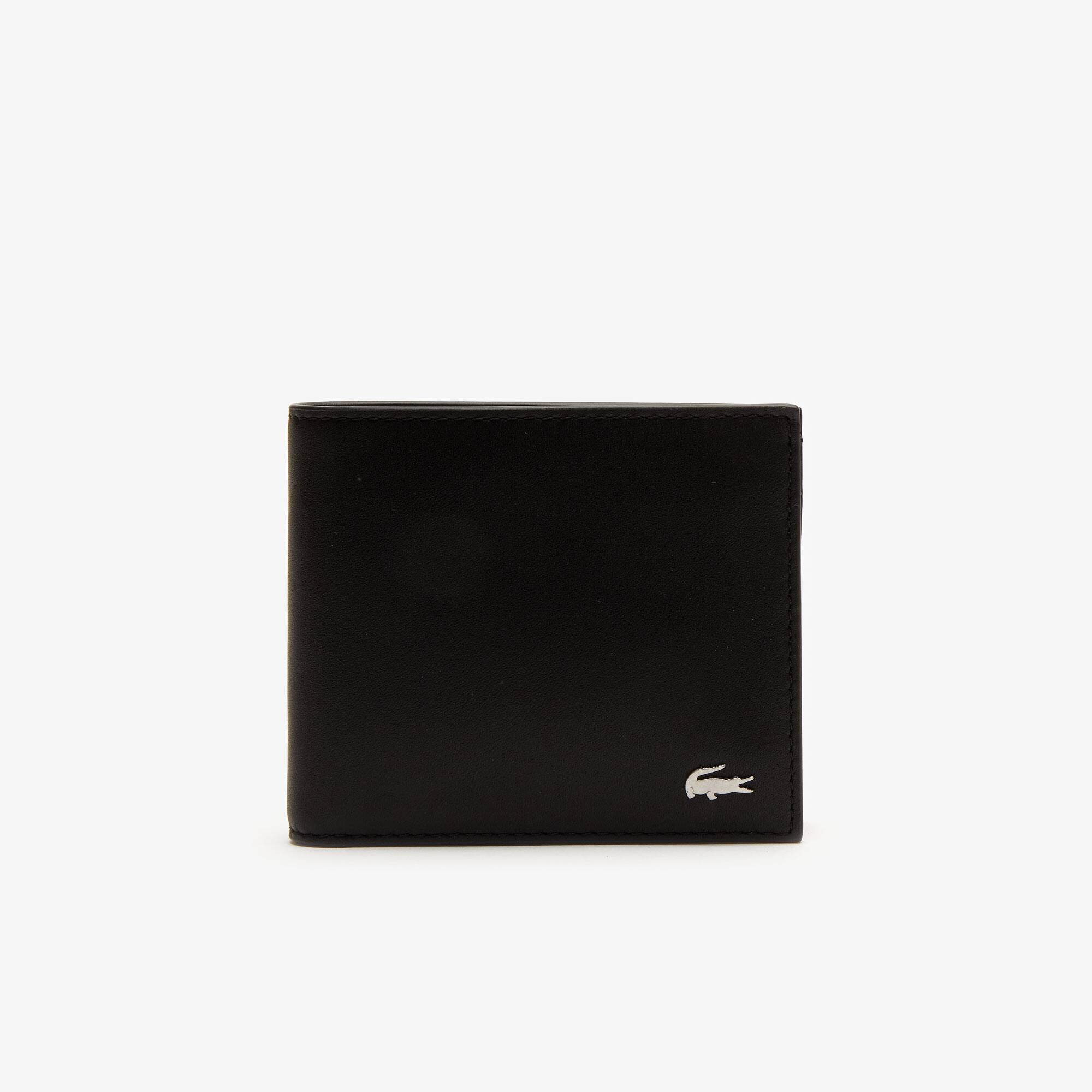Coffret portefeuille et porte-cartes Fitzgerald en cuir uni