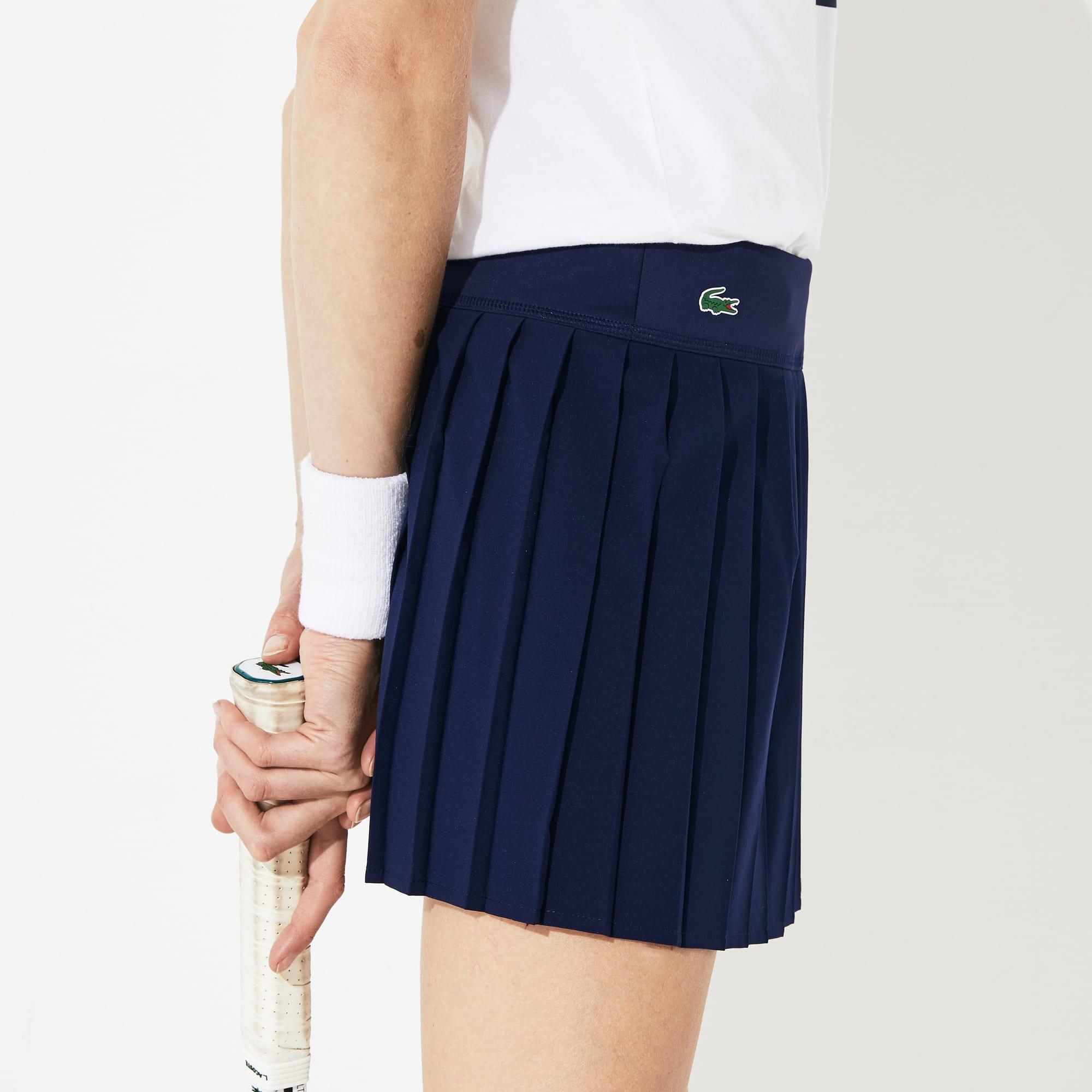 f84d0e47b5 Jupe plissée Tennis Lacoste SPORT en maille technique | LACOSTE