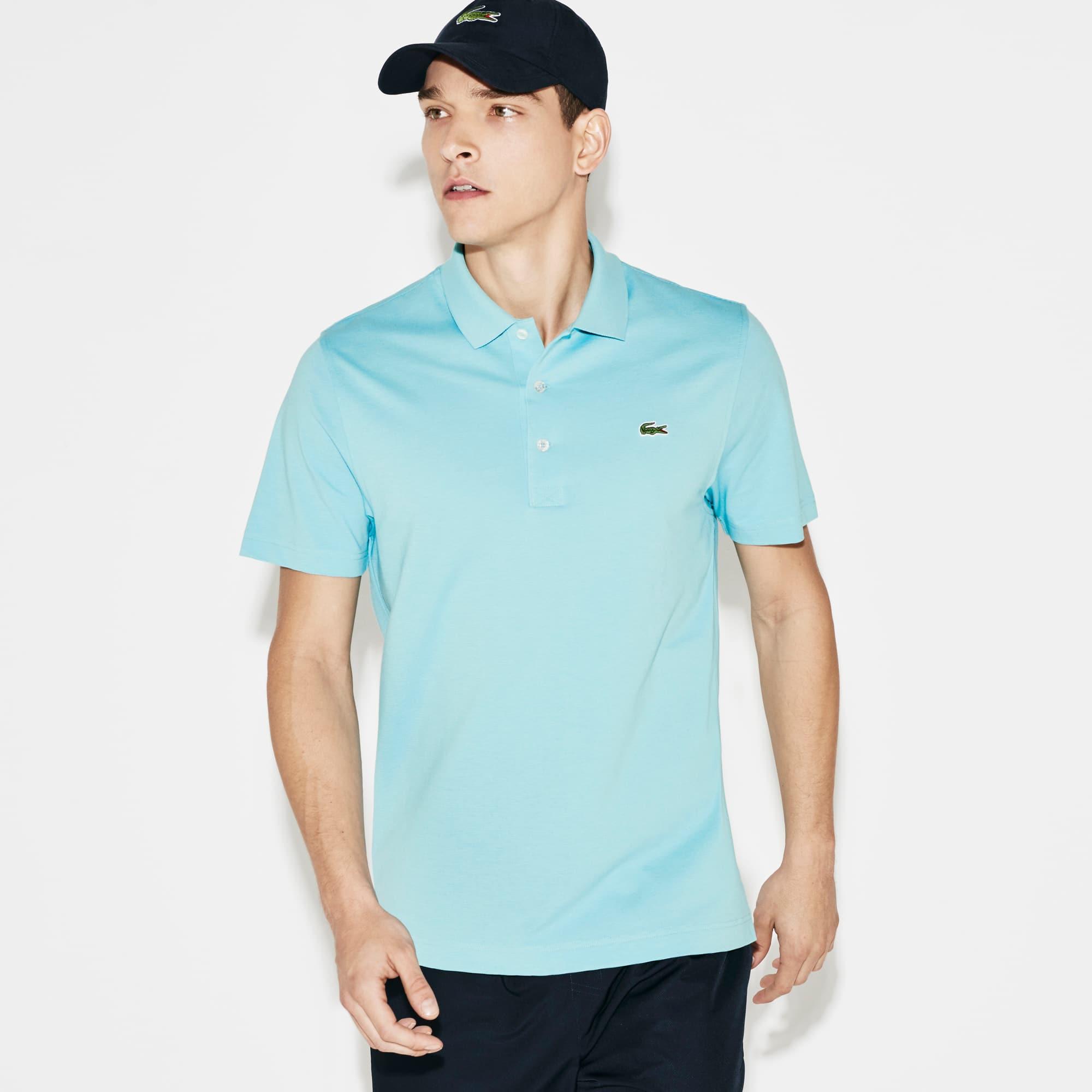 Polo regular fit Tennis Lacoste SPORT en maille ultra-légère