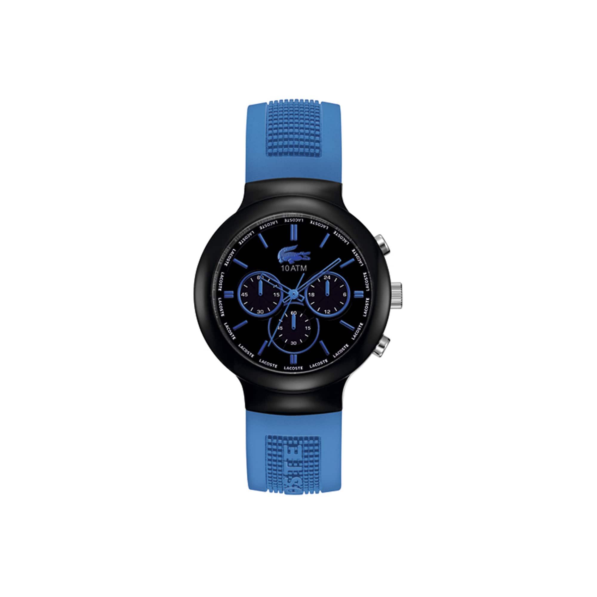 Montre Borneo chrono - bracelet bleu