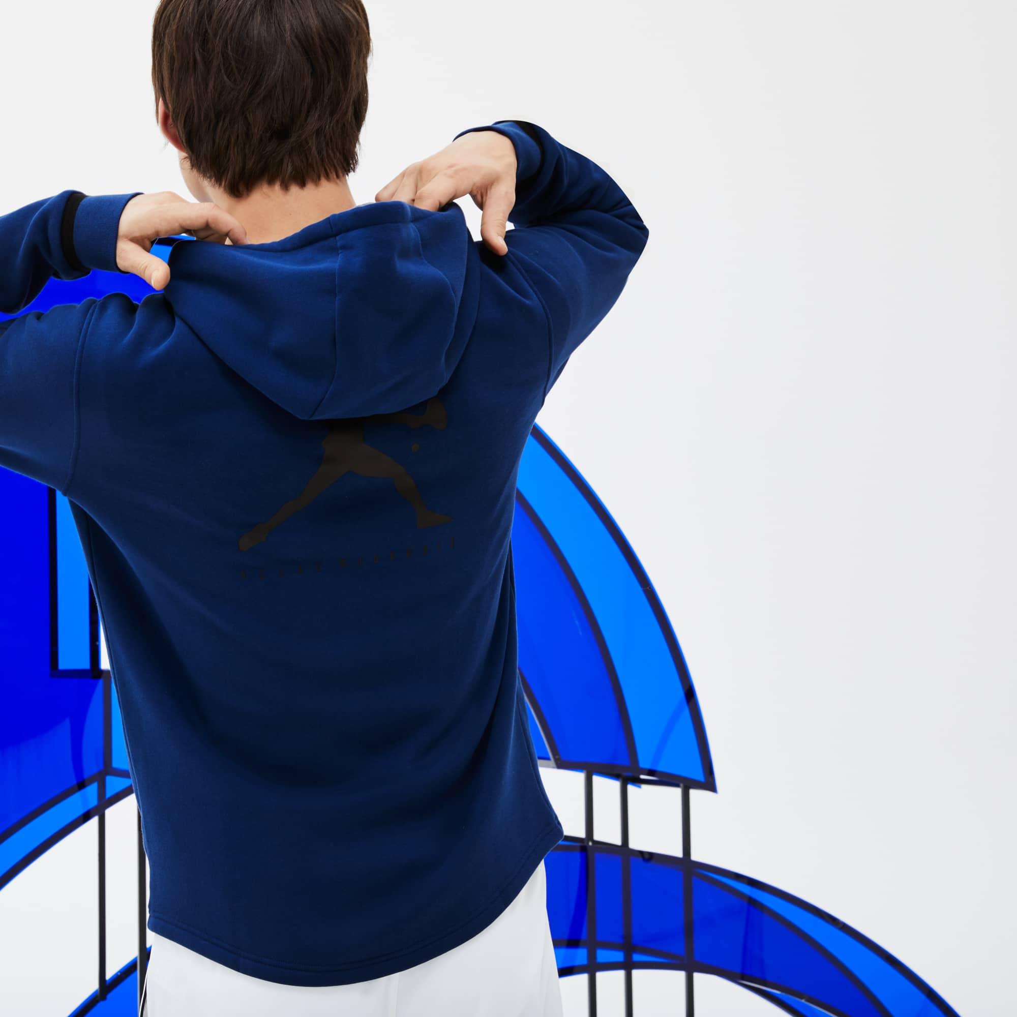 Sport Novak Zippé Djokovic Collection Capuche À Sweatshirt Lacoste IvBWCcwSwq