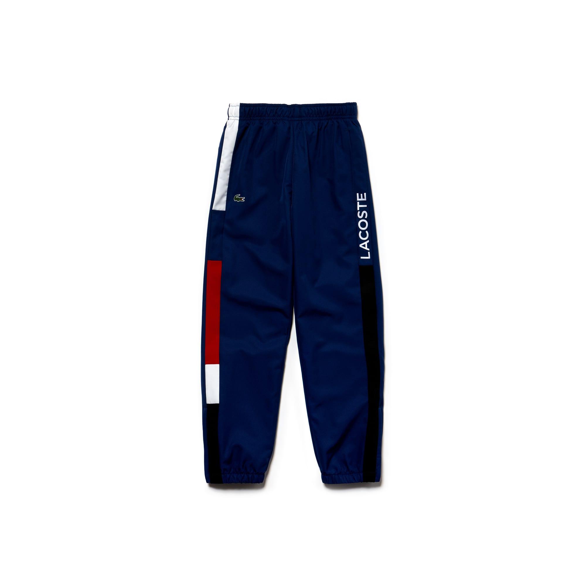 Pantalon de survêtement Garçon Tennis Lacoste SPORT en taffetas