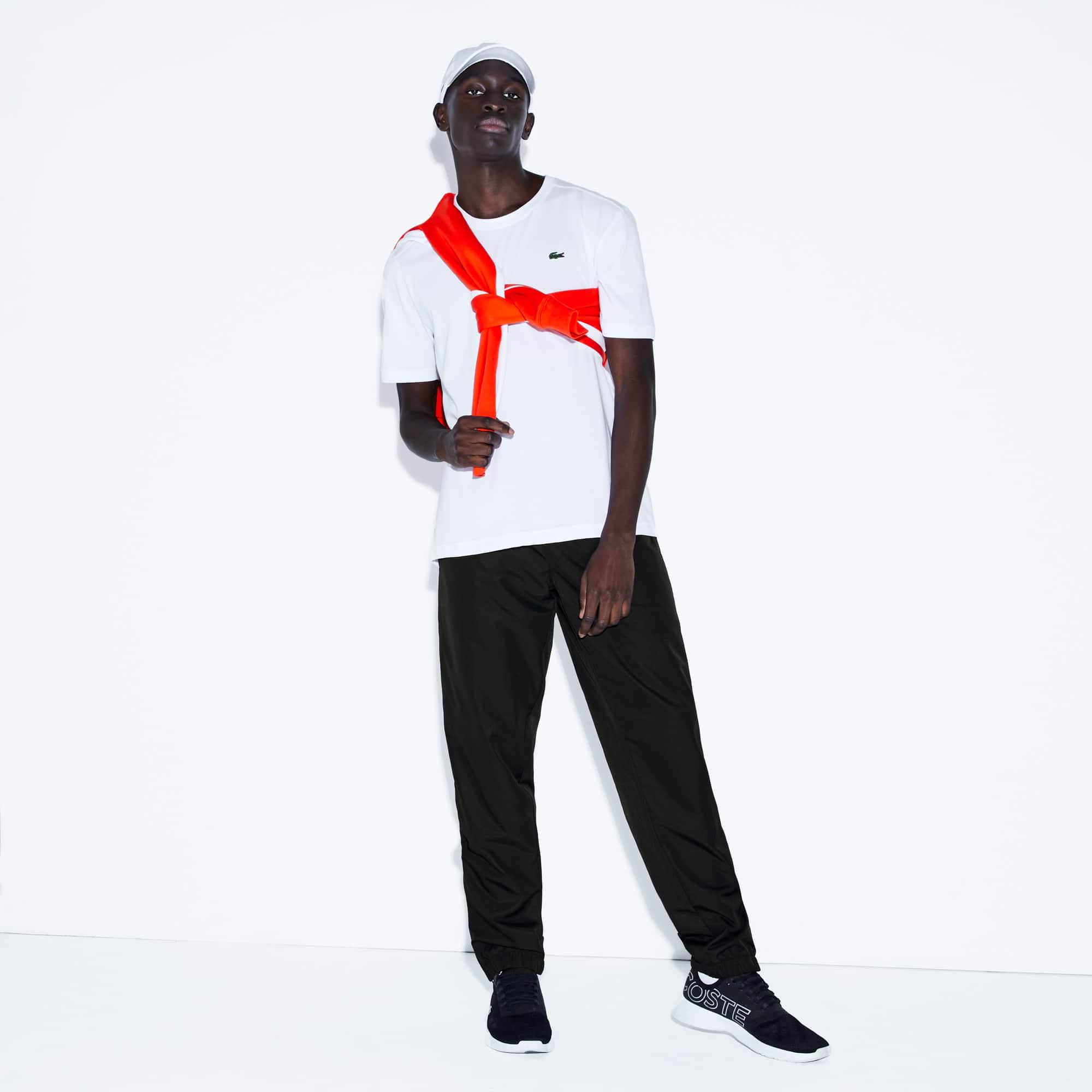 bb528e37de Pantalon de survêtement Tennis Lacoste SPORT avec bande crocodiles ...