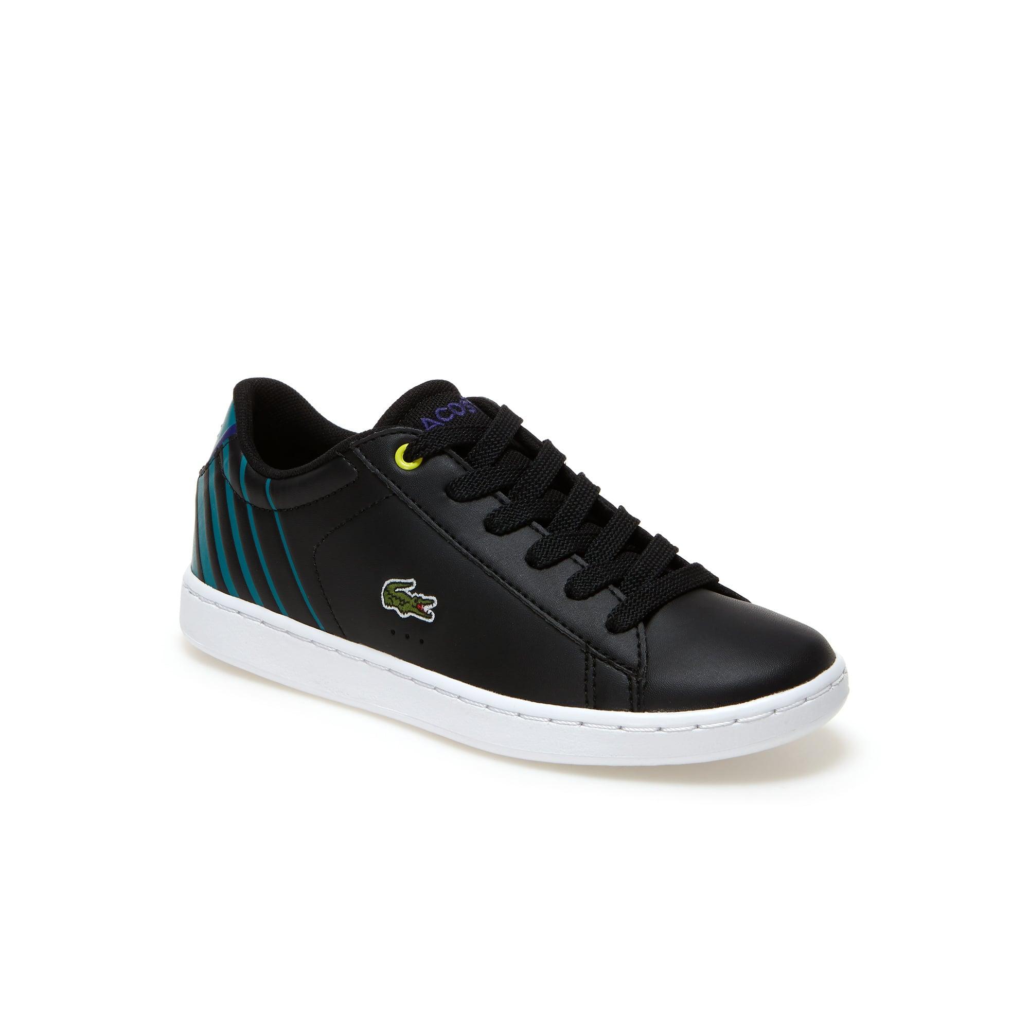Sneakers Enfant Carnaby Evo en simili-cuir et résille respirante