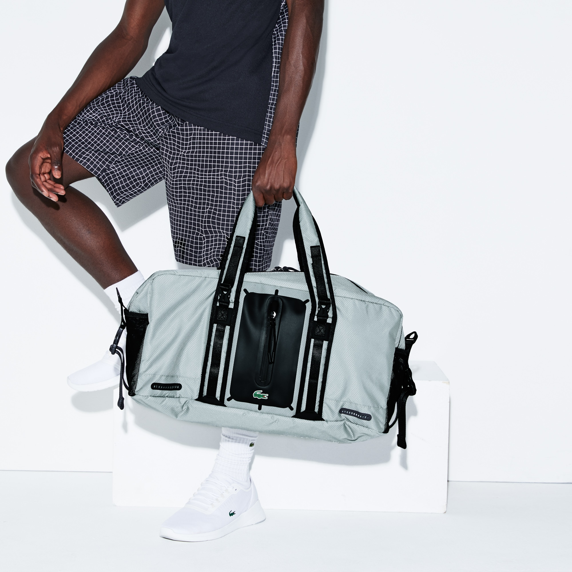 Sac polochon Lacoste SPORT Match Point en nylon