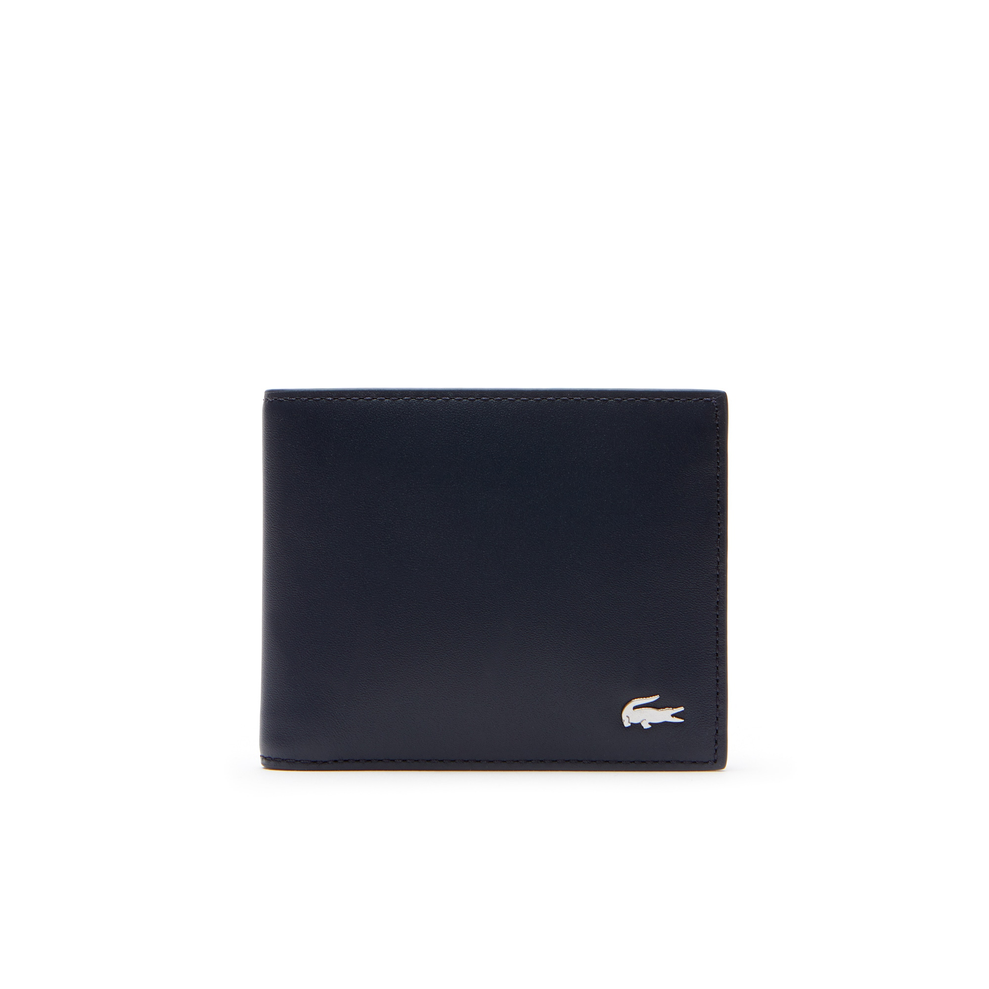 Portefeuille Fitzgerald en cuir color block 6 cartes
