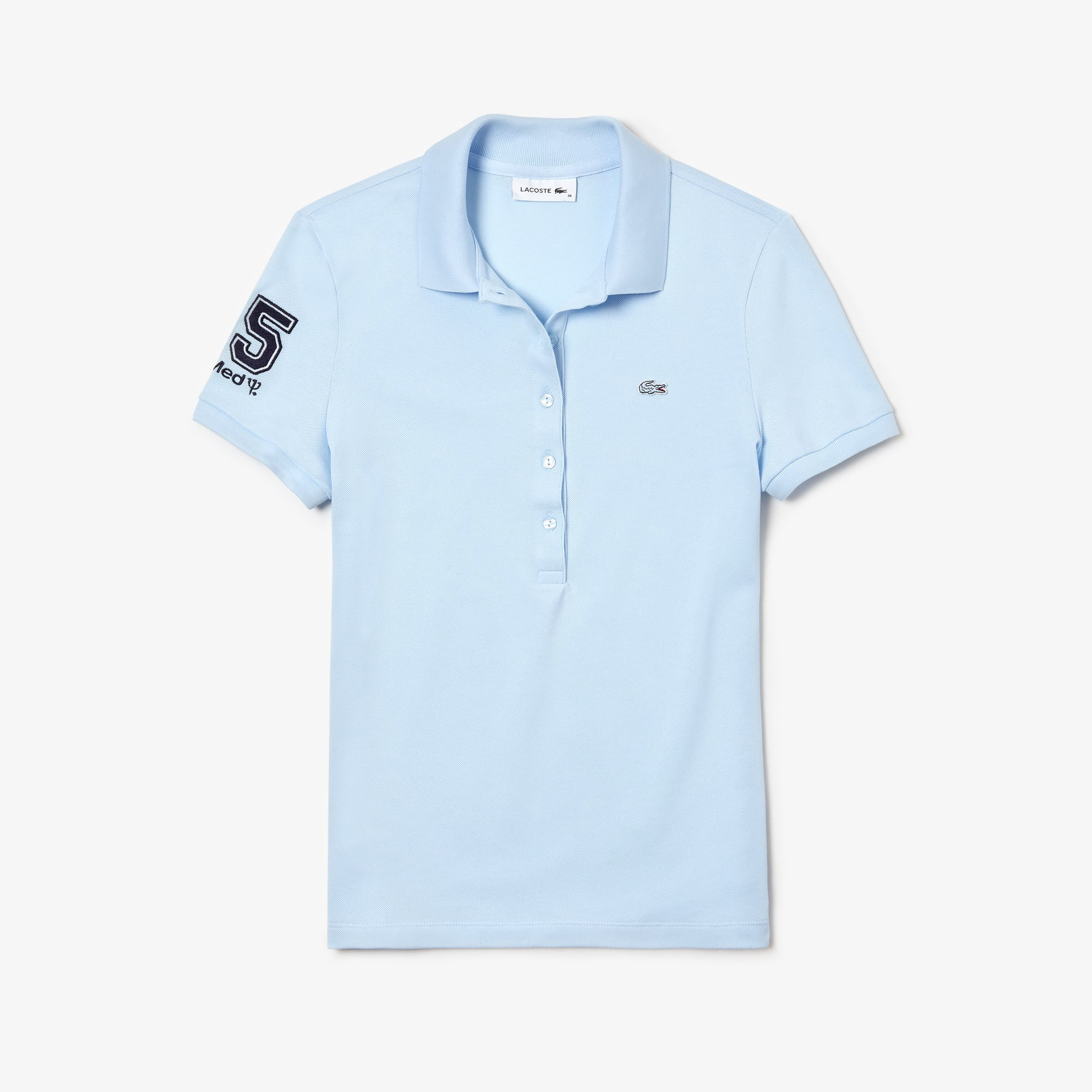 Polo Feminin Lacoste en coton stretch - Club Med