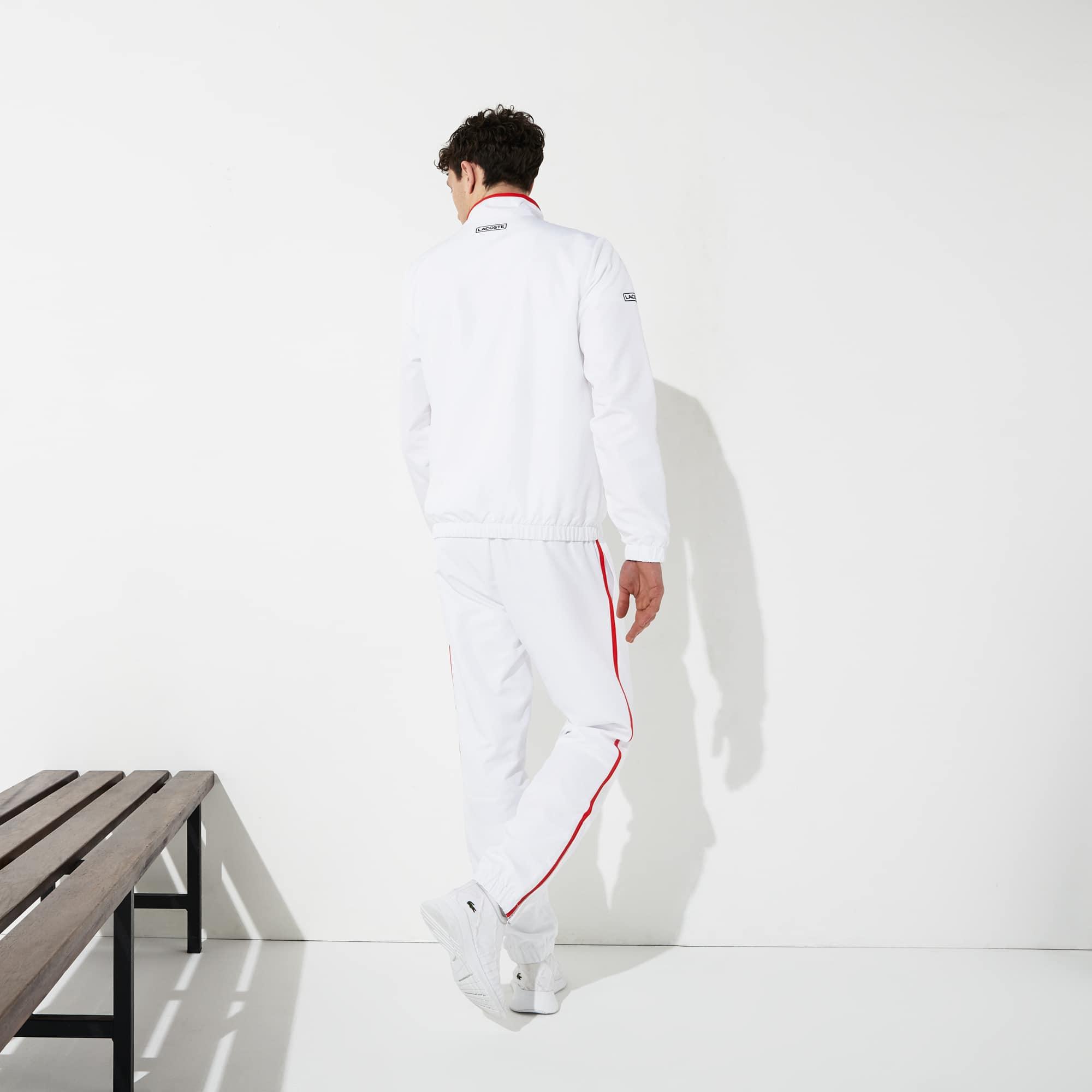 e1790f7c28 Ensemble de survêtement Tennis Lacoste SPORT à bandes contrastées ...