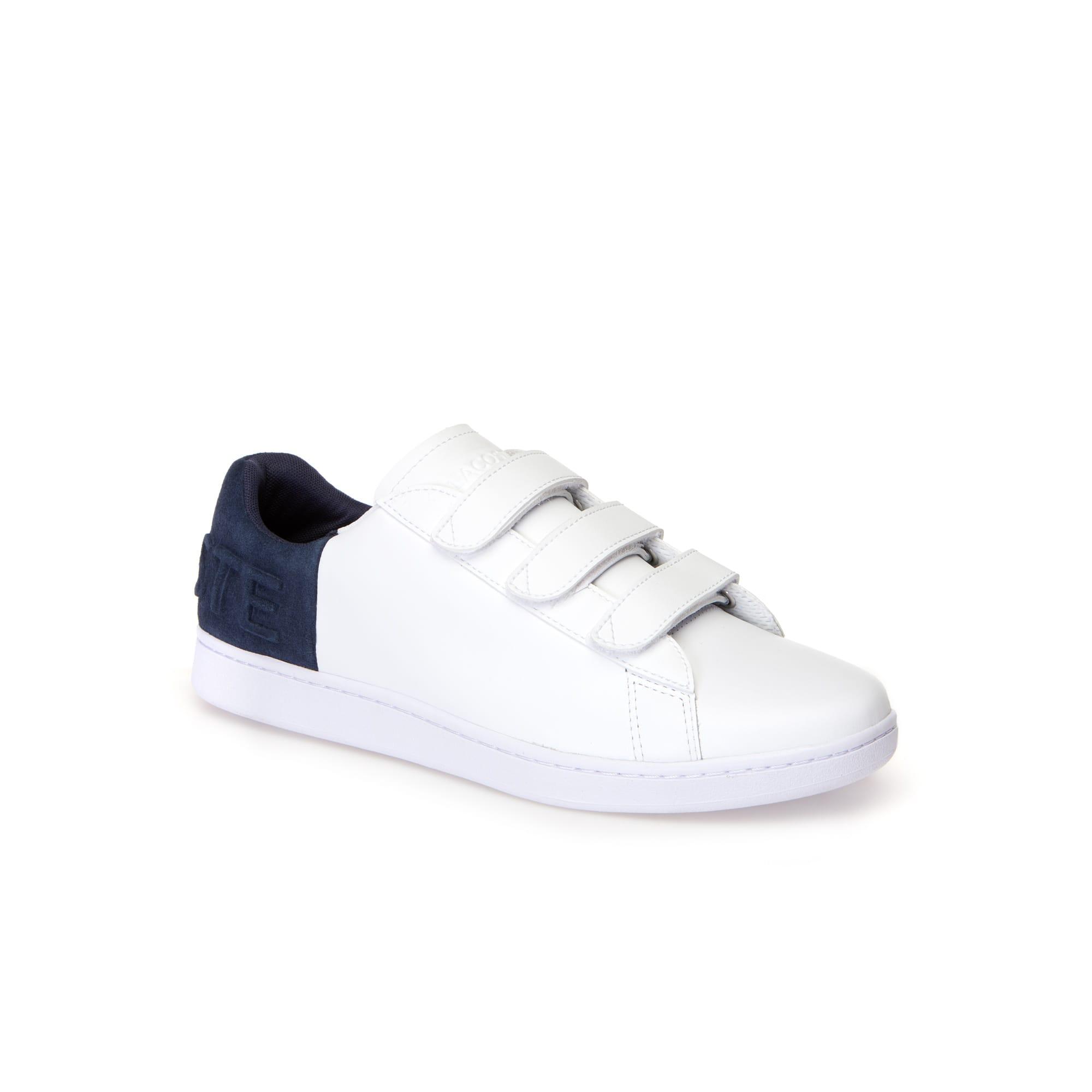 Sneakers Carnaby Evo à scratch homme en cuir et suède