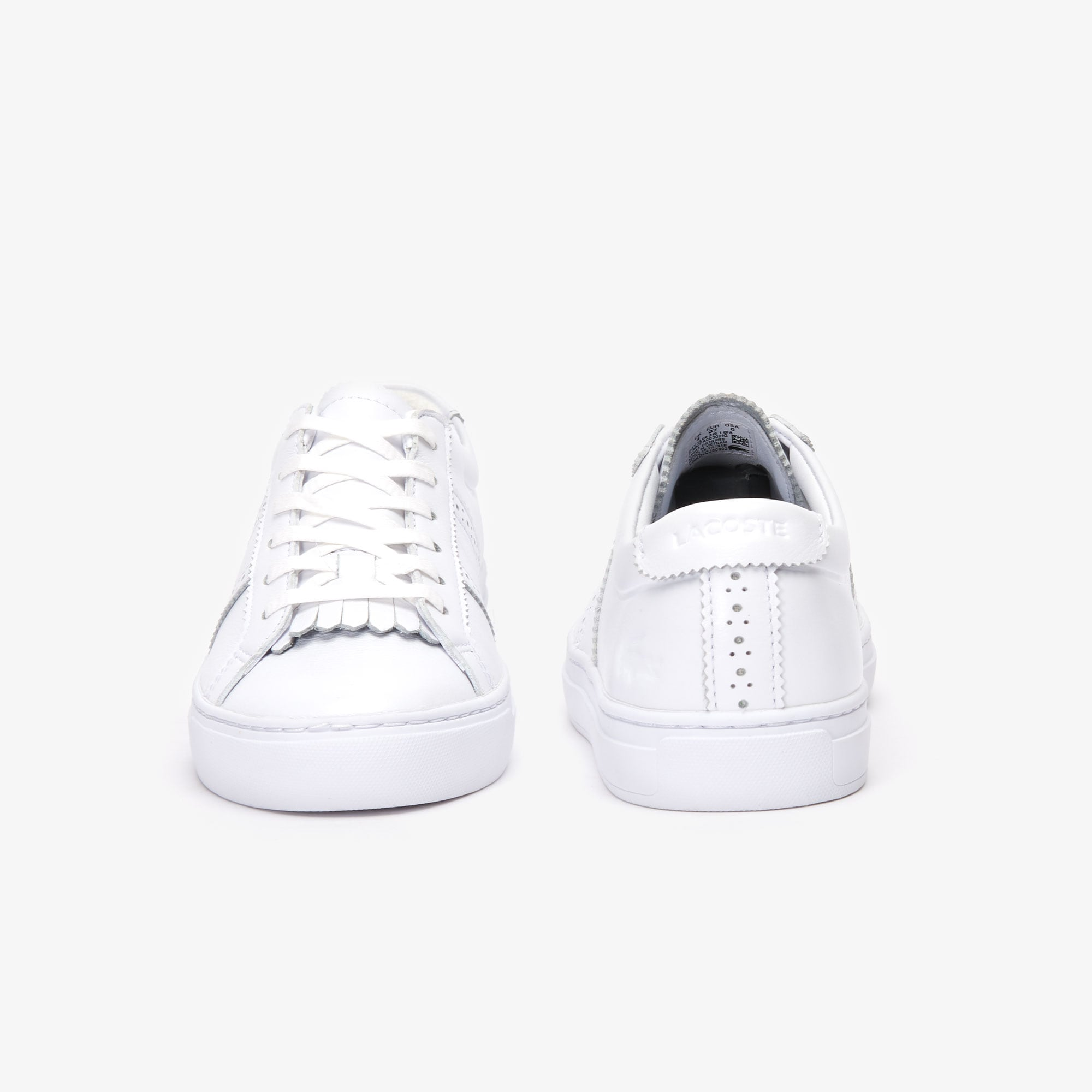 Sneakers City Club femme en cuir premium
