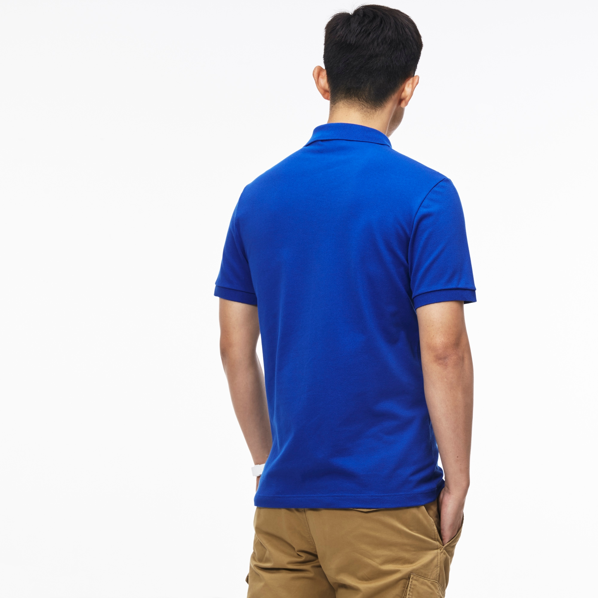 Stretch Petit En Piqué Polo Uni Lacoste Slim Fit Yx4wSq6z