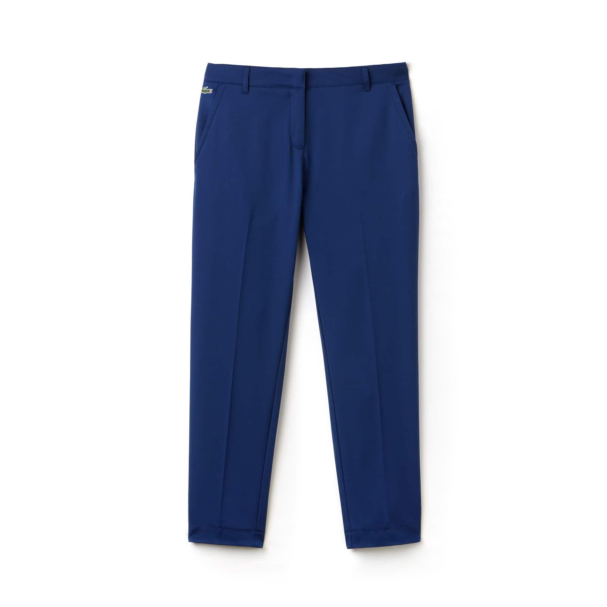 Pantalons à plis Lacoste SPORT Golf femmes en gabardine technique