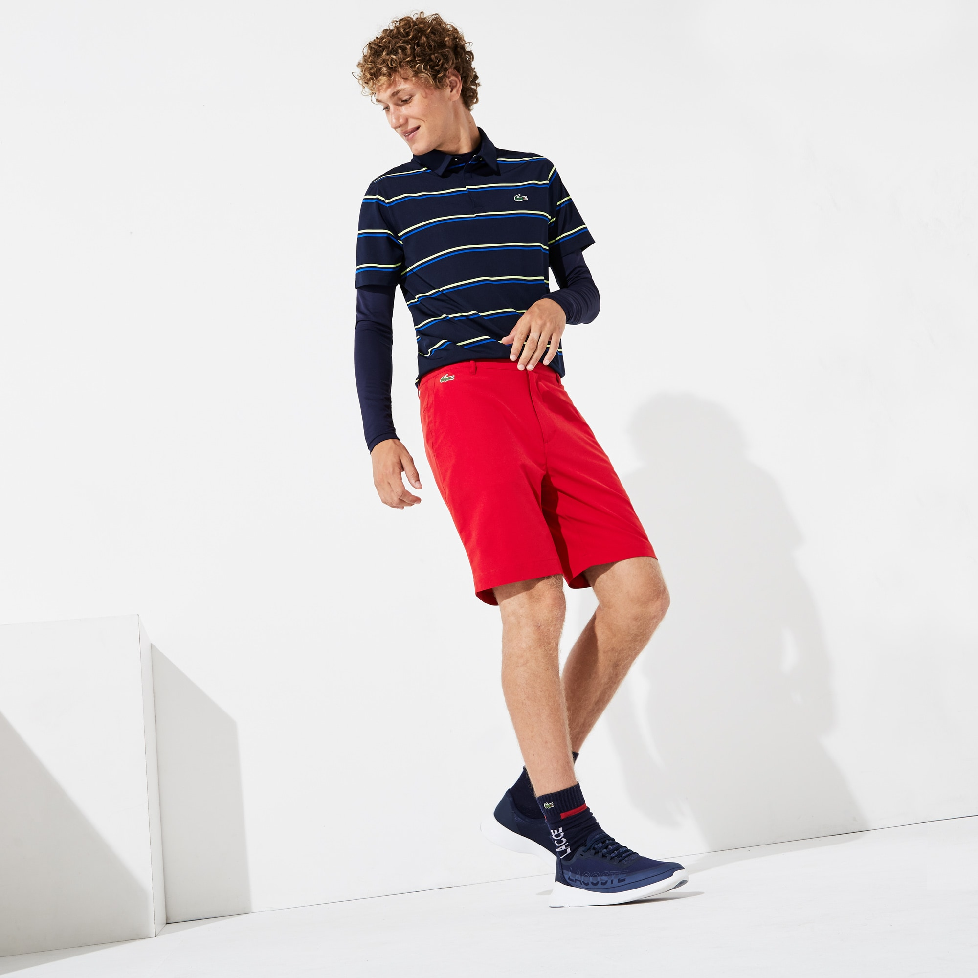 Bermuda technique Golf Lacoste SPORT  stretch uni
