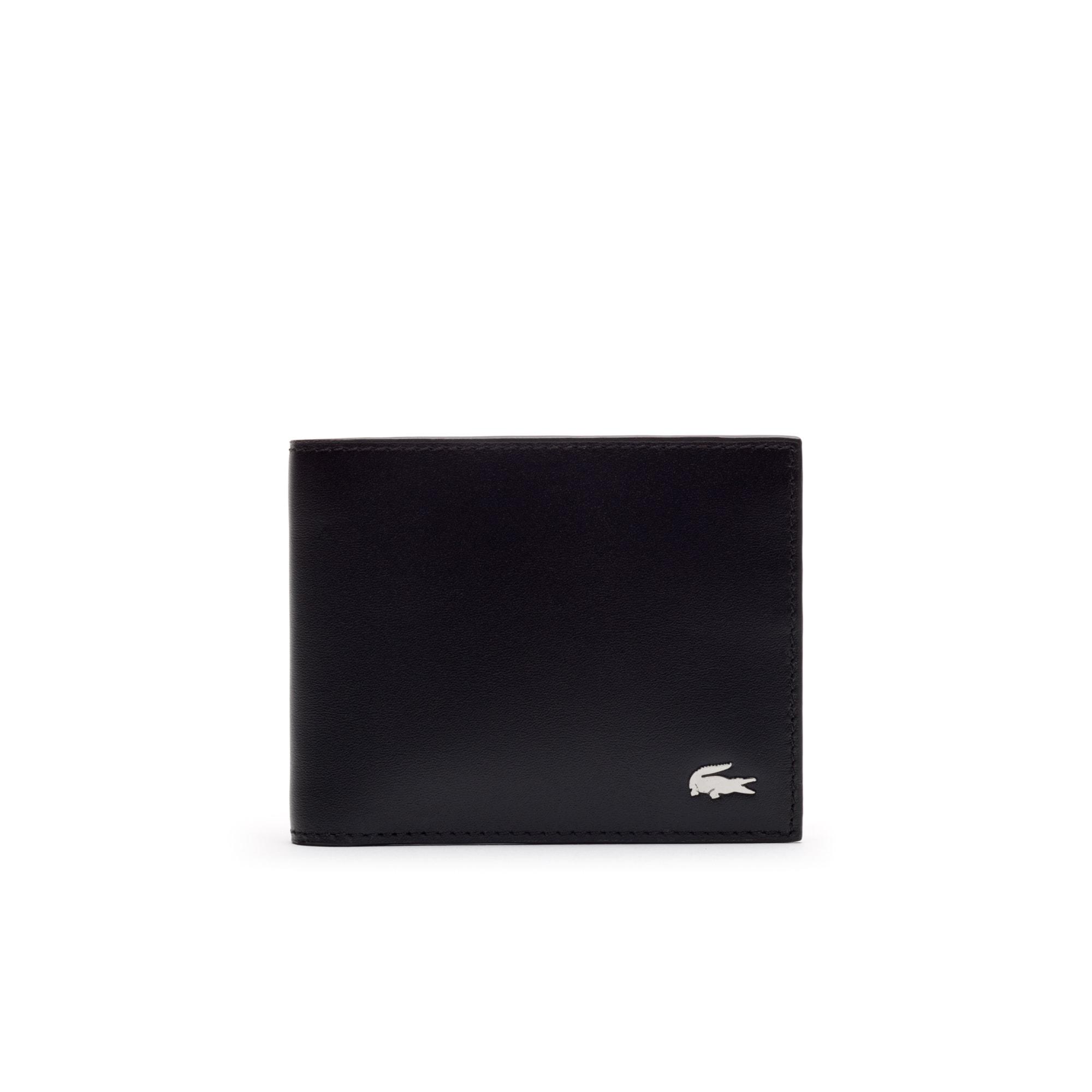 Coffret portefeuille et porte-clefs FG en cuir 6 cartes