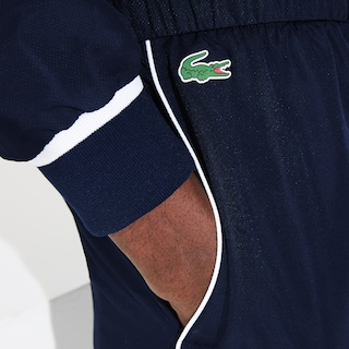 Ensemble de survêtement Tennis Lacoste SPORT color-block et marquage