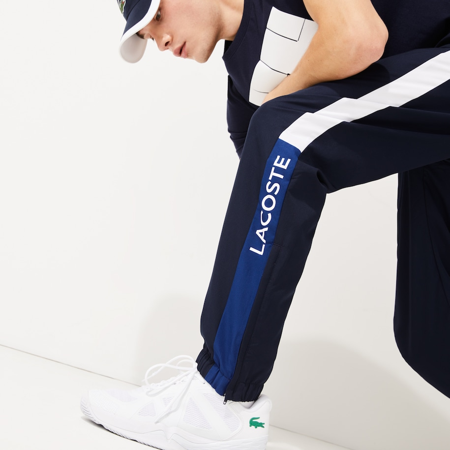 Pantalon de survêtement Lacoste SPORT color-block léger