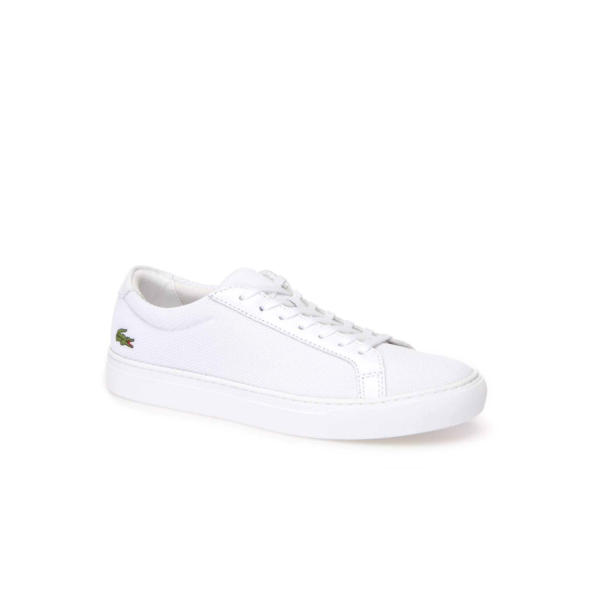Sneakers L.12.12 en toile piquée