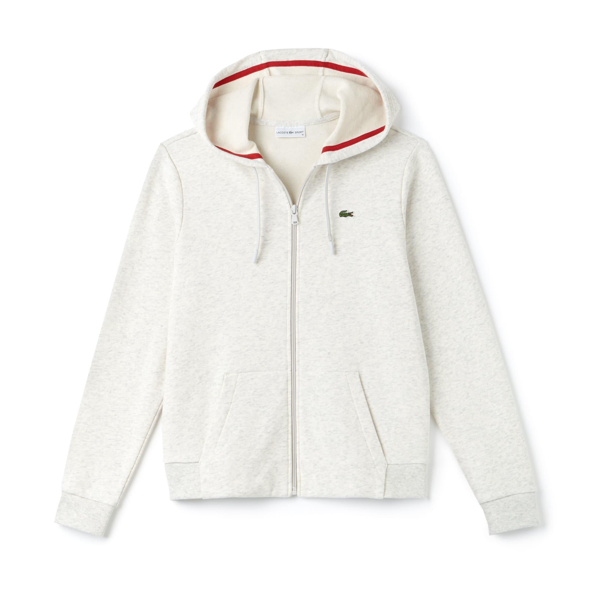 5a5988dd52b1 Sweatshirt zippé à capuche Tennis Lacoste SPORT ...