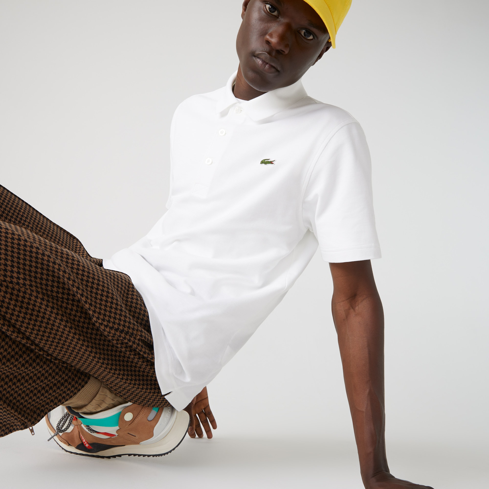 Polo regular fit Lacoste SPORT en maille ultra-légère