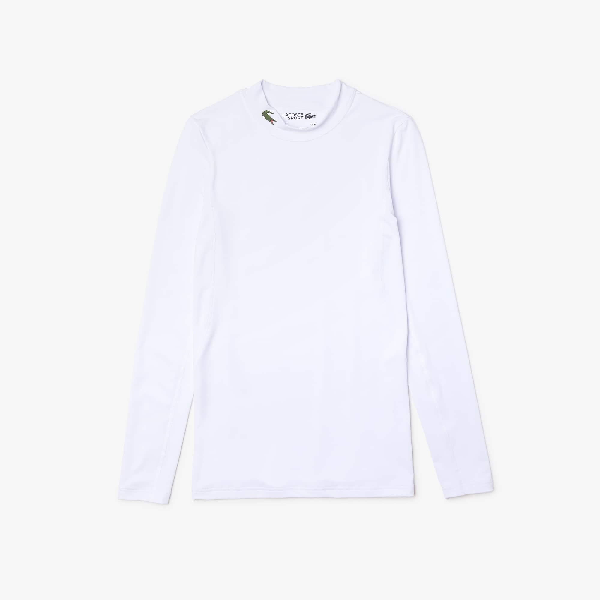 T-shirt manches longues Golf Lacoste SPORT en jersey technique