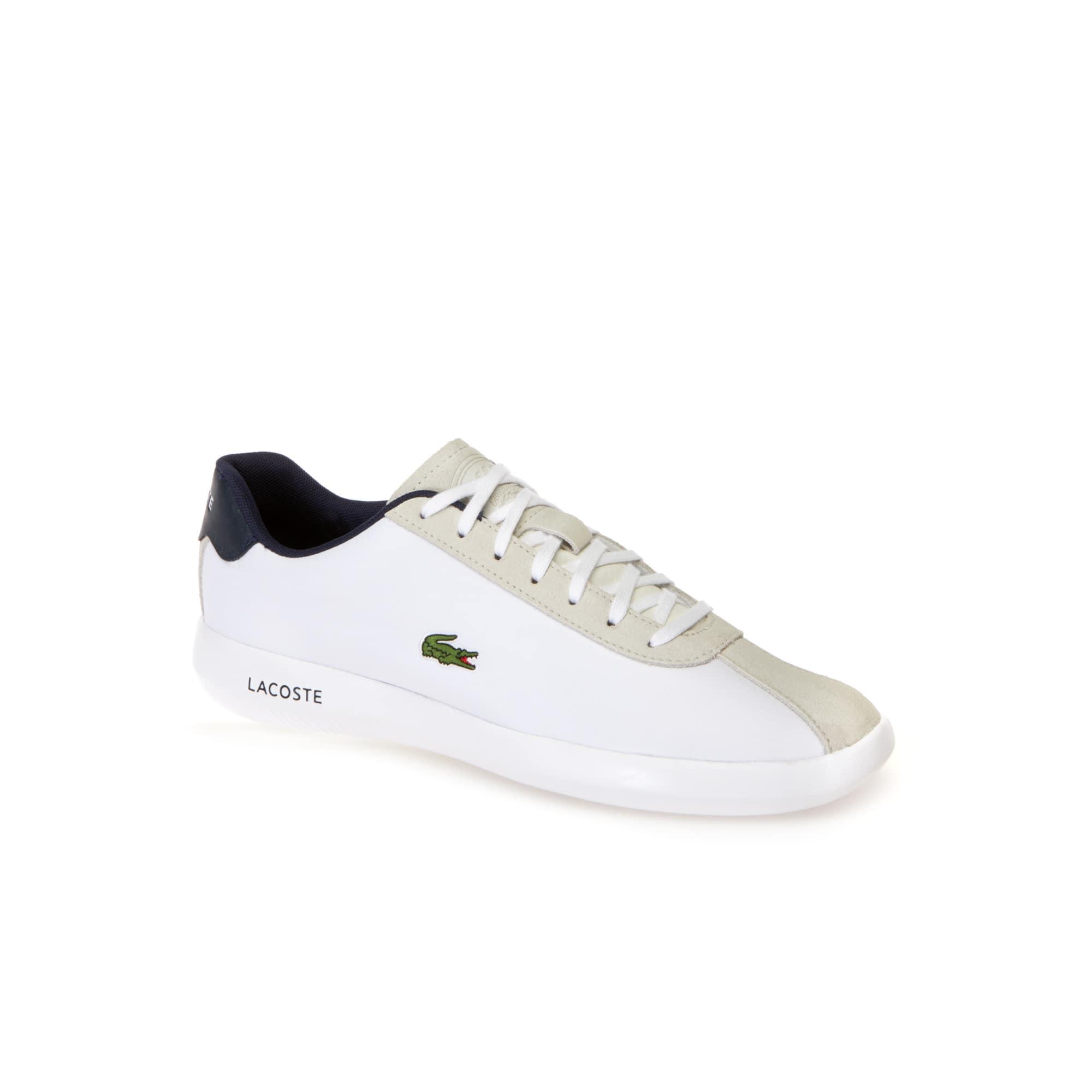 Homme Avance En SuèdeLacoste Sneakers Nylon Et I7g6bYfyv