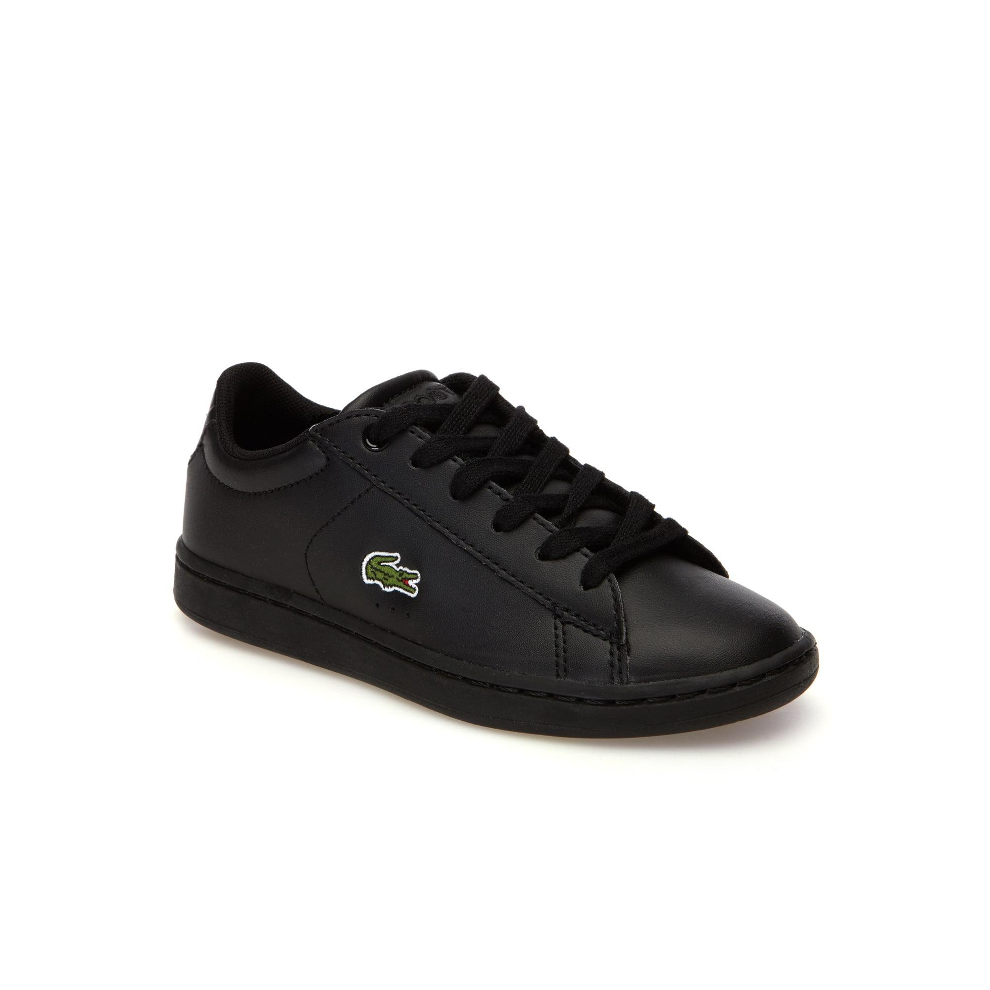 Sneakers Enfant Carnaby Evo en simili-cuir et piqué résille