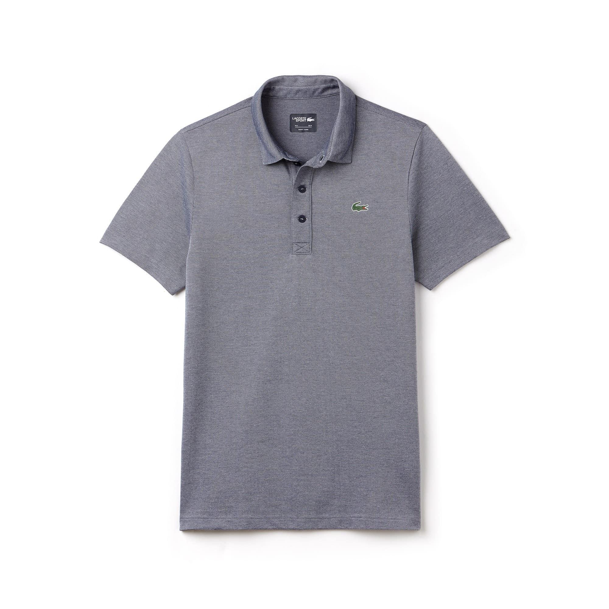 Polo Golf Lacoste SPORT en jersey technique bicolore