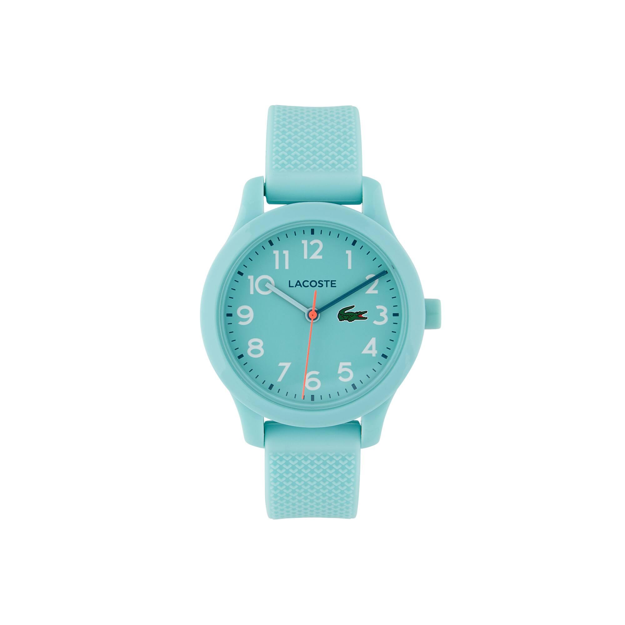 Montre Lacoste 12.12 Enfant avec Bracelet en Silicone Turquoise