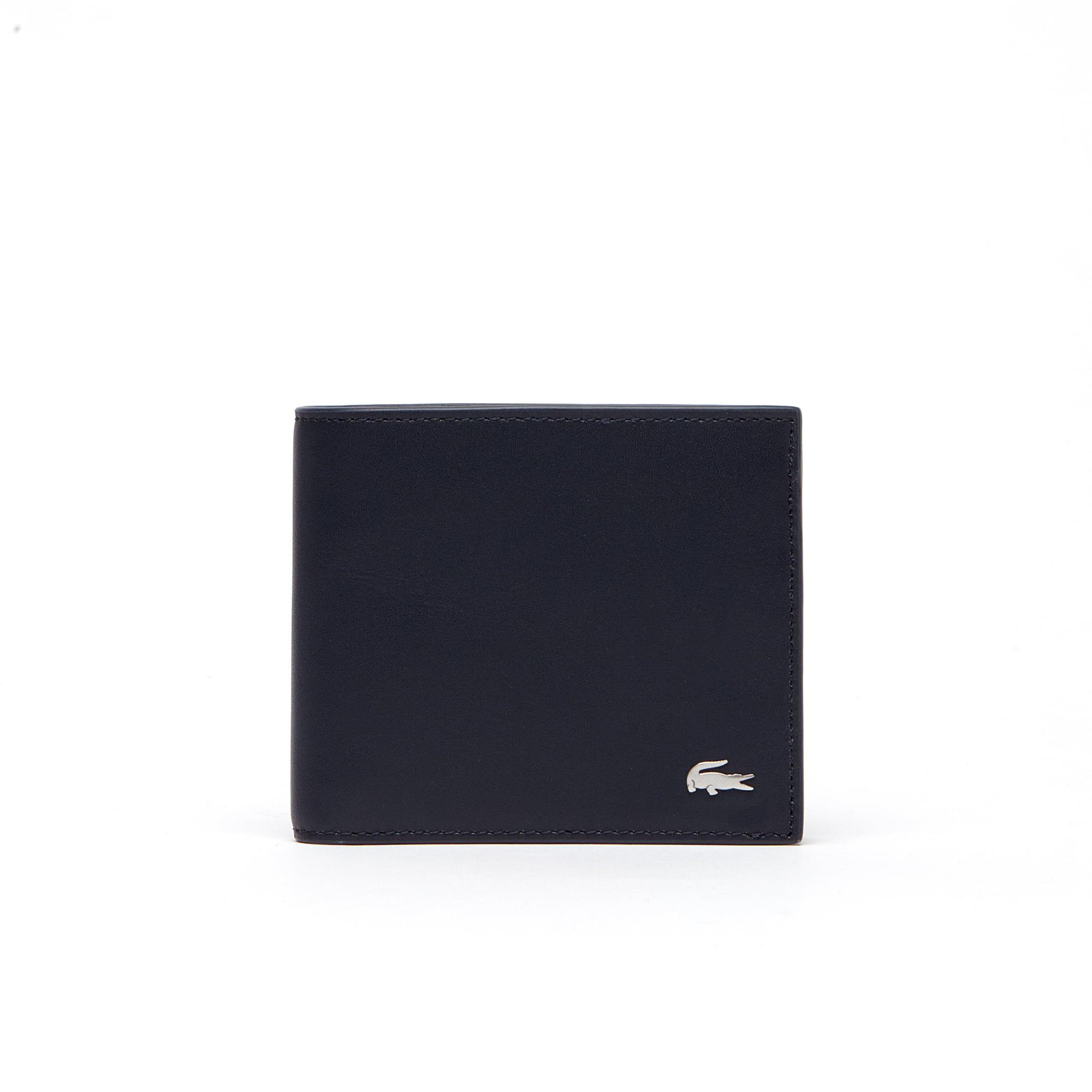 Portefeuille Fitzgerald en cuir color block 3 cartes