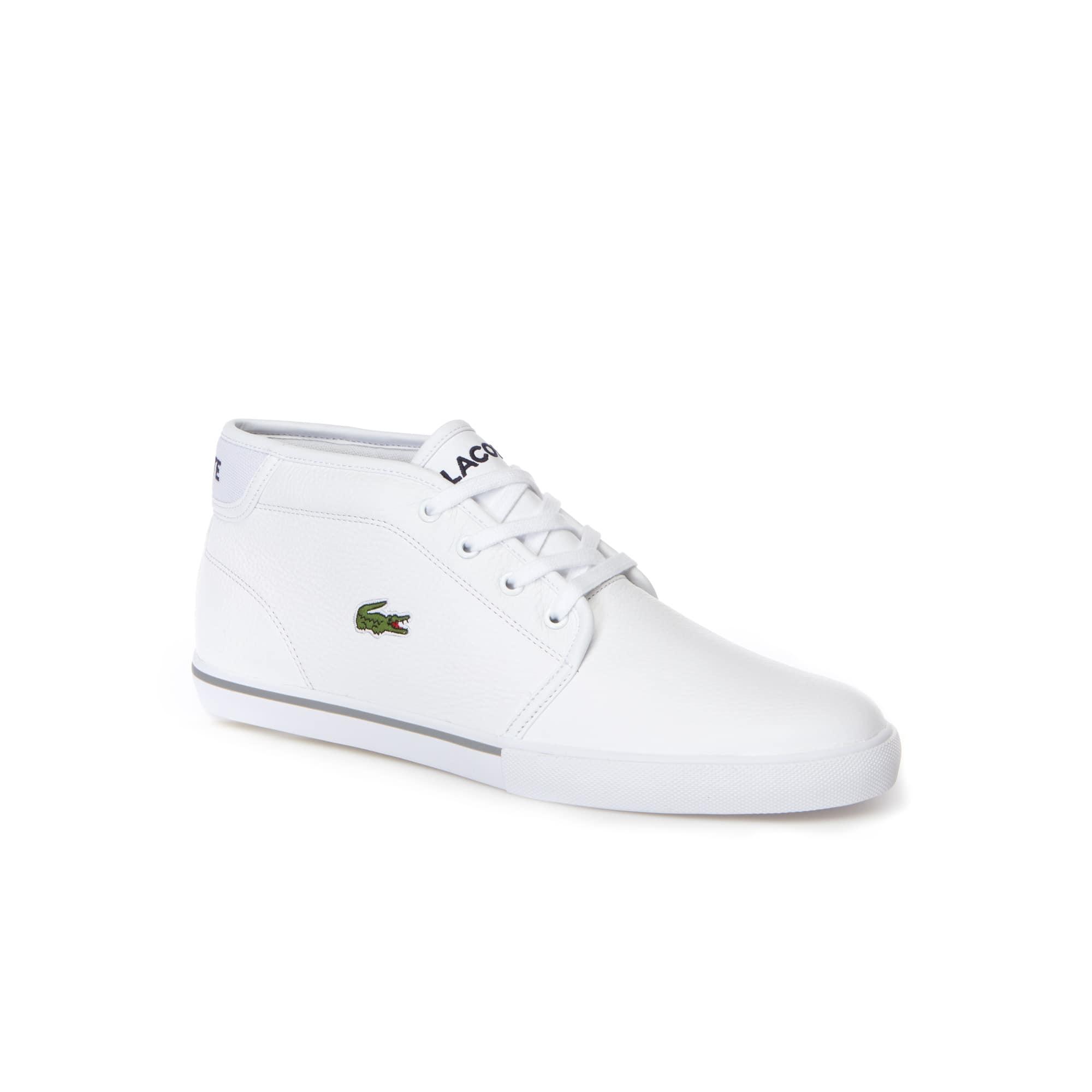 Sneakers Ampthill en cuir avec liseré
