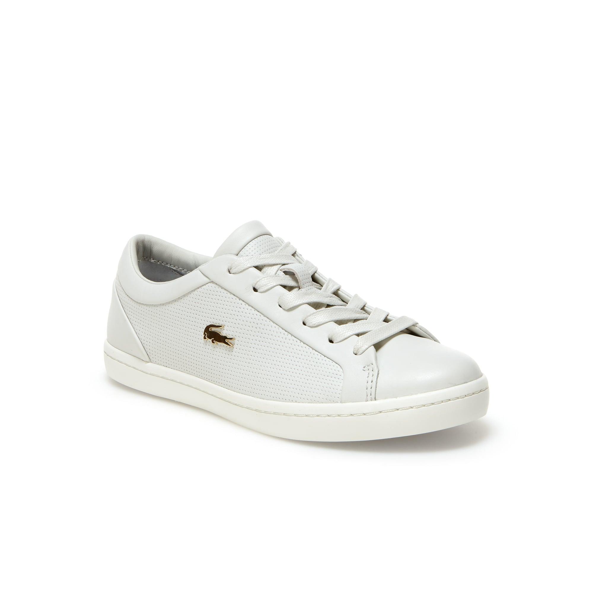 Sneakers Straightset en cuir nappa