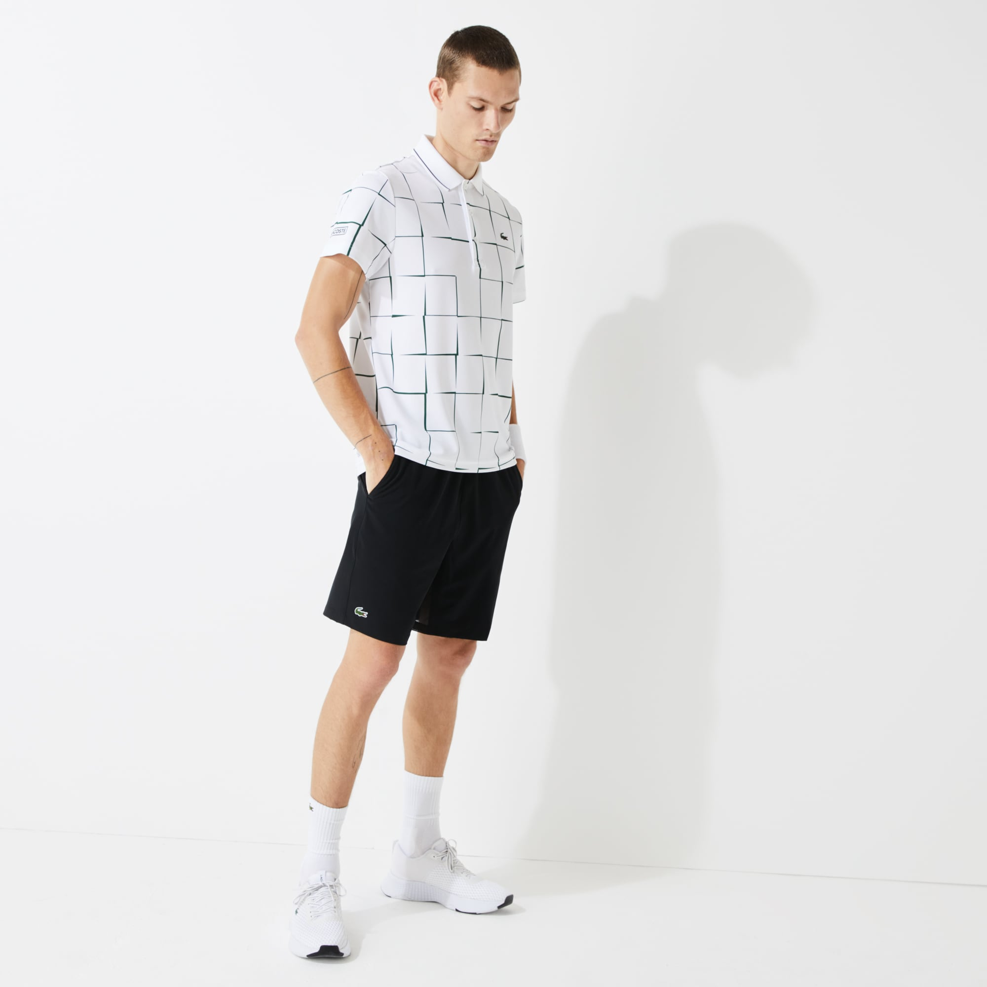 Short Tennis Lacoste SPORT stretch uni