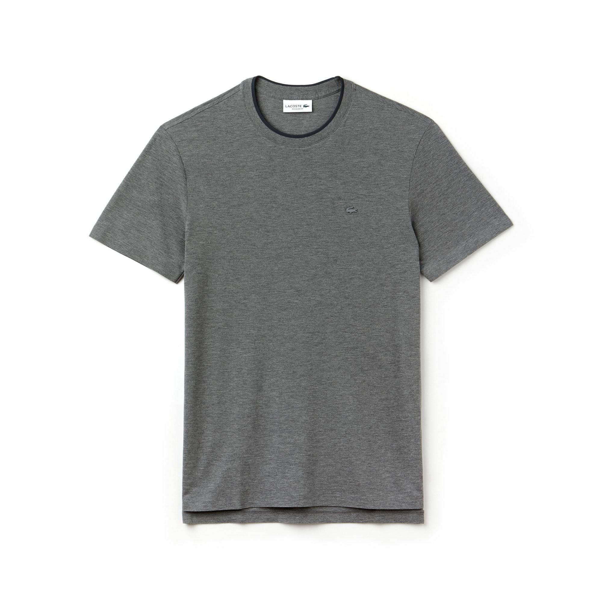 T-shirt col rond Lacoste MOTION en piqué de coton Pima uni