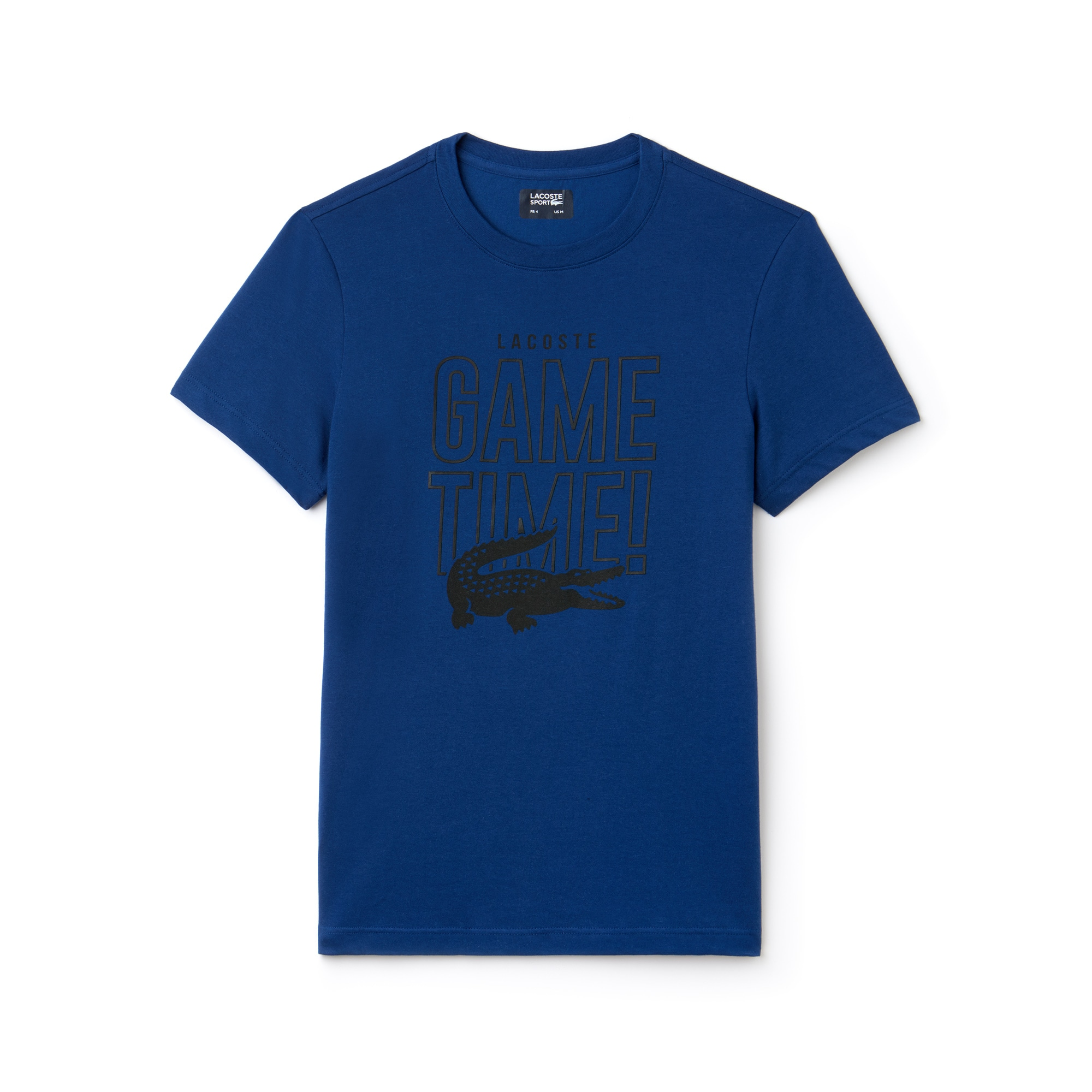 T-shirt col rond Tennis Lacoste SPORT en jersey technique Game Time