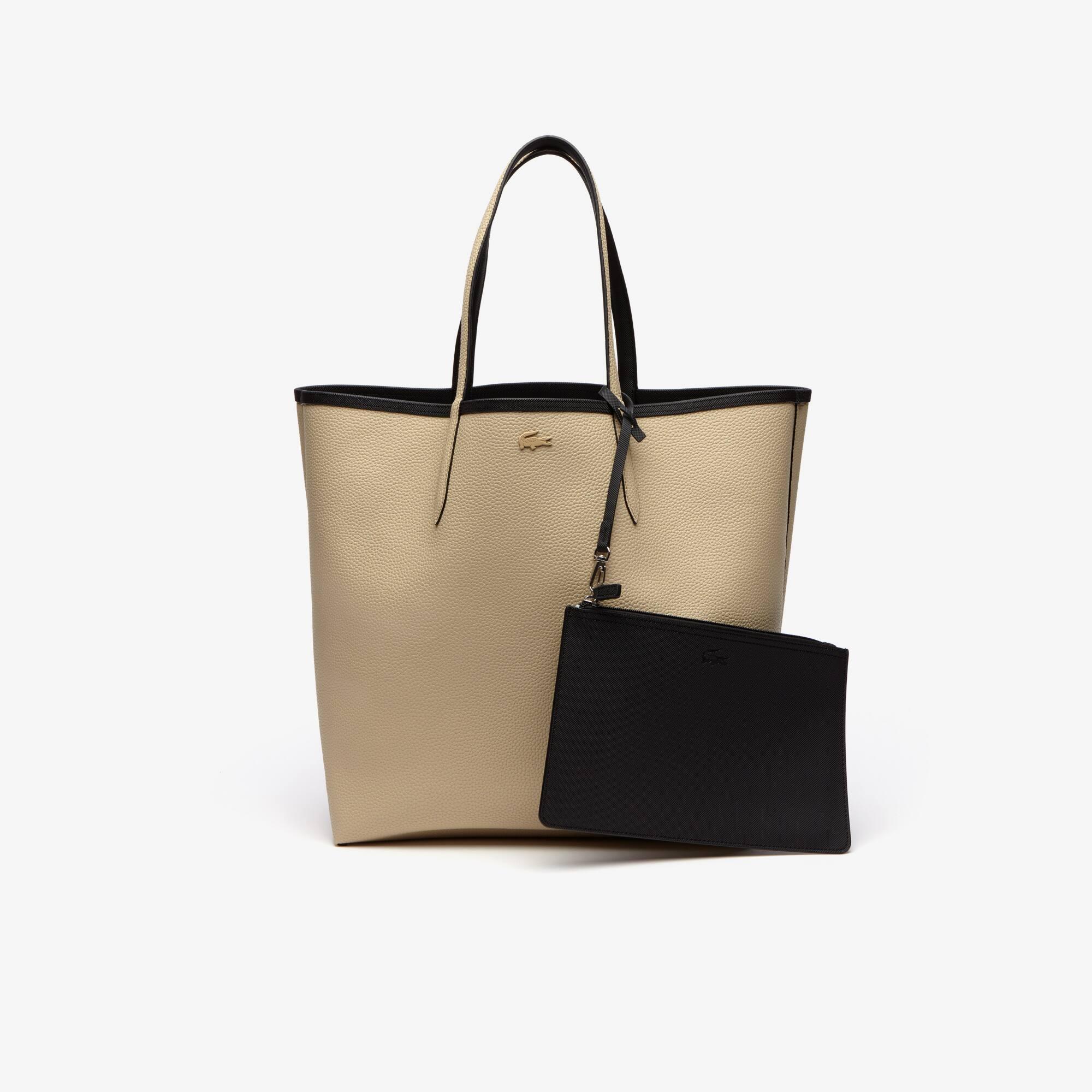 Grand sac cabas Anna réversible bicolore