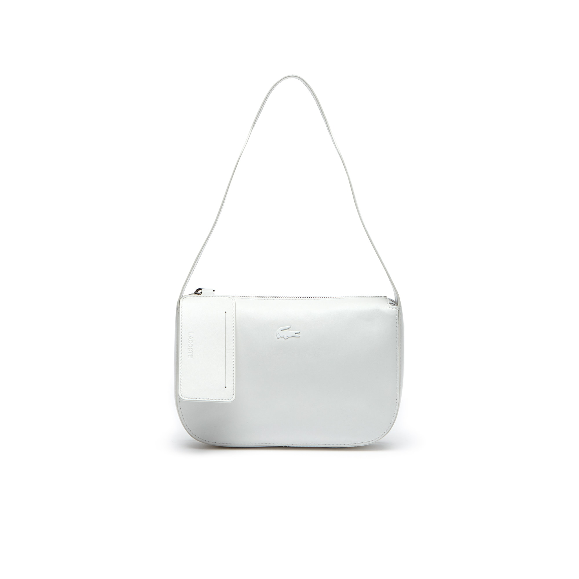 Mini sac hobo Purity en cuir souple monochrome