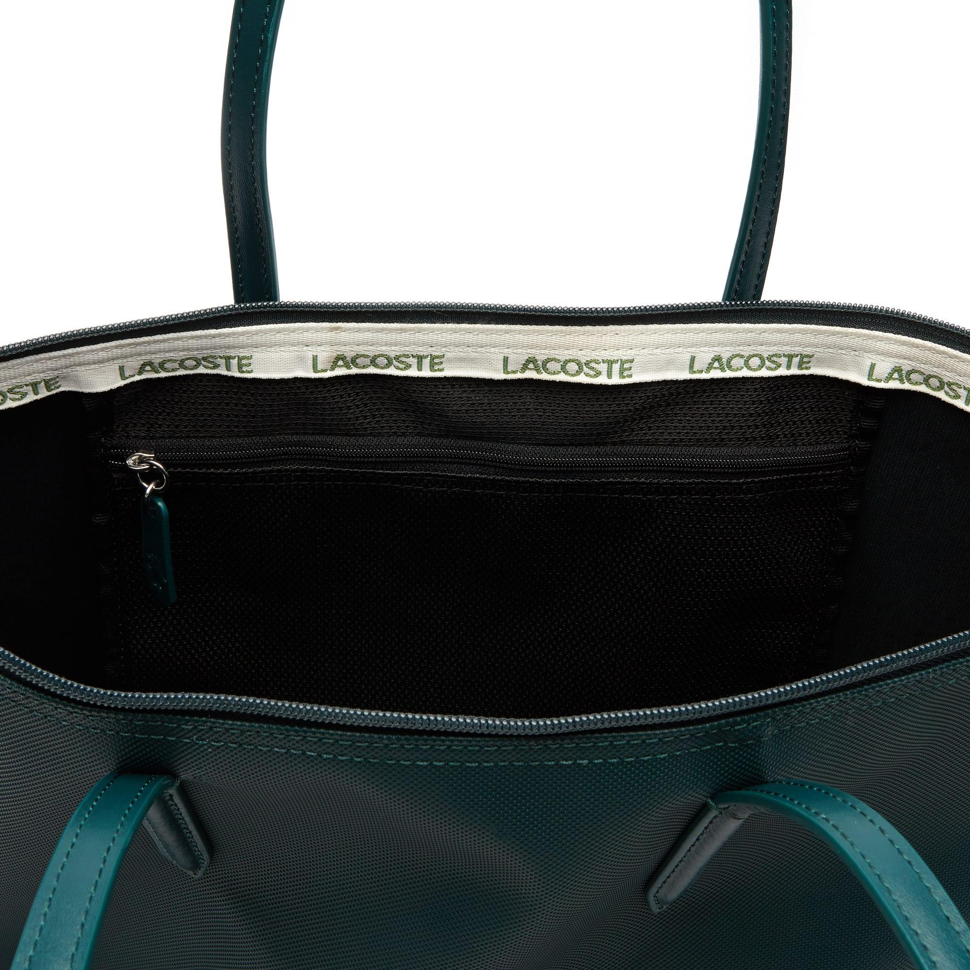 Concept 12 Lacoste Zippé Marquage L 12 Grand Avec Cabas Sac RXqYTY